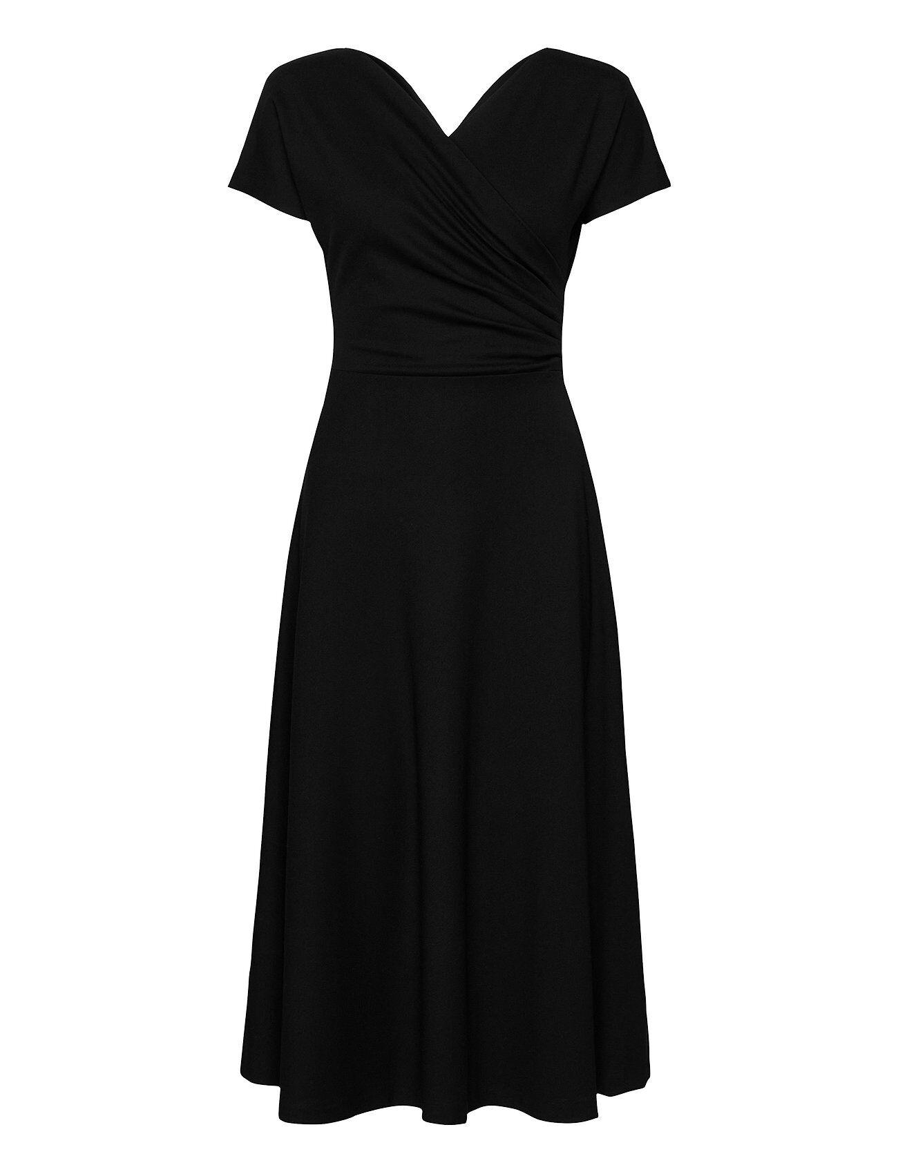 Residus Anis Ecovero Dress Polvipituinen Mekko Musta Residus