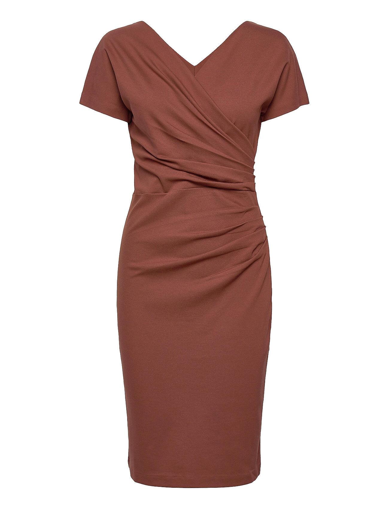 Residus Ava Ecovero Dress Polvipituinen Mekko Punainen Residus