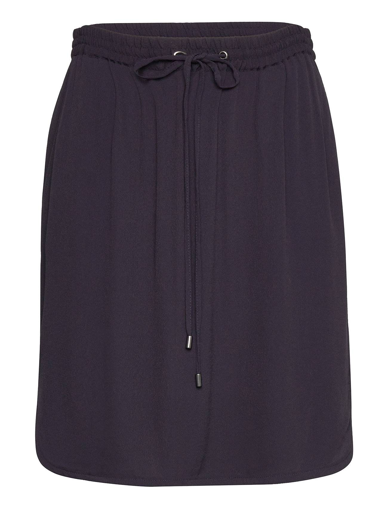 Saint Tropez R8155, Elastic Waist Skirt Lyhyt Hame Sininen Saint Tropez