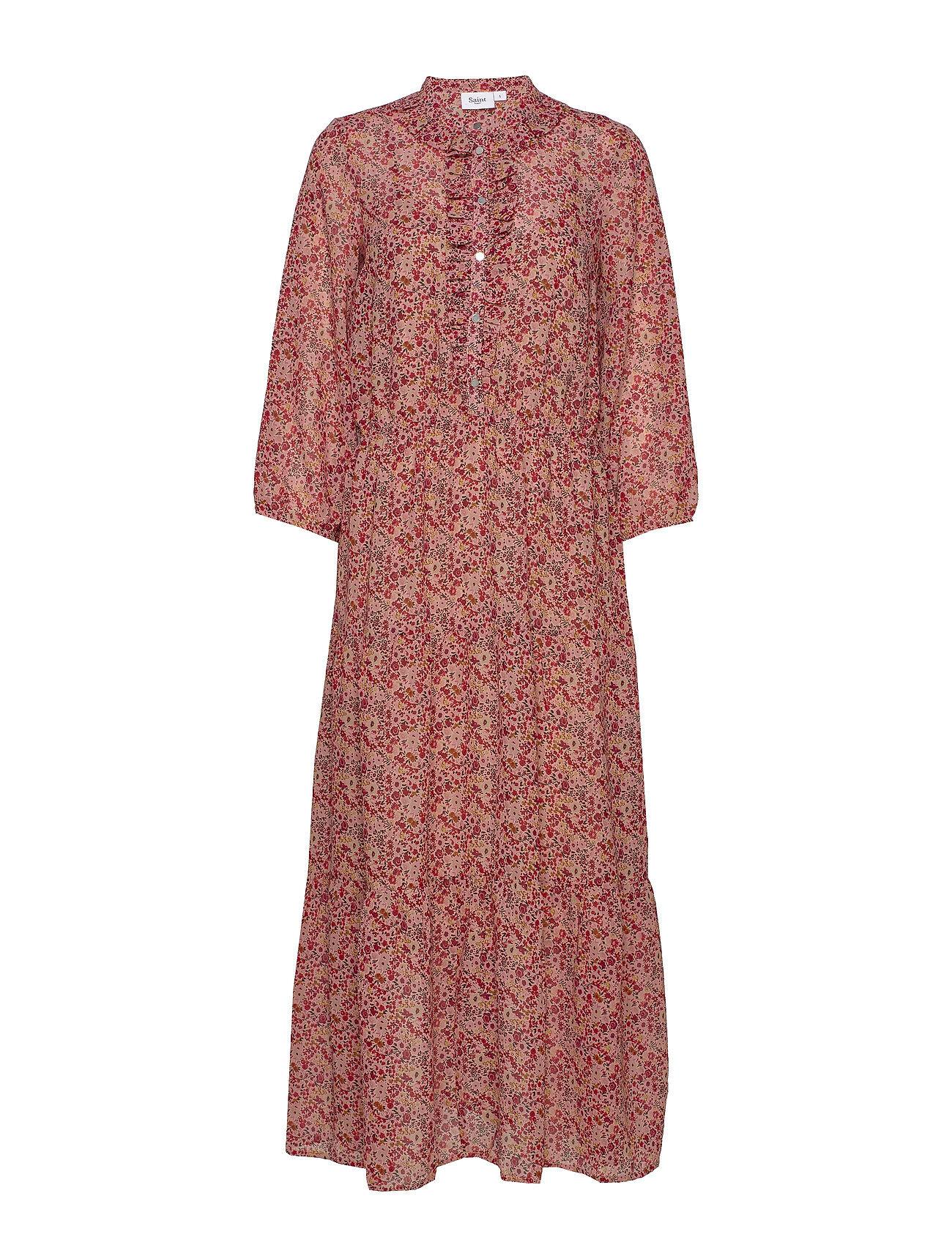 Saint Tropez Aurorasz Maxi Dress Maksimekko Juhlamekko Vaaleanpunainen Saint Tropez