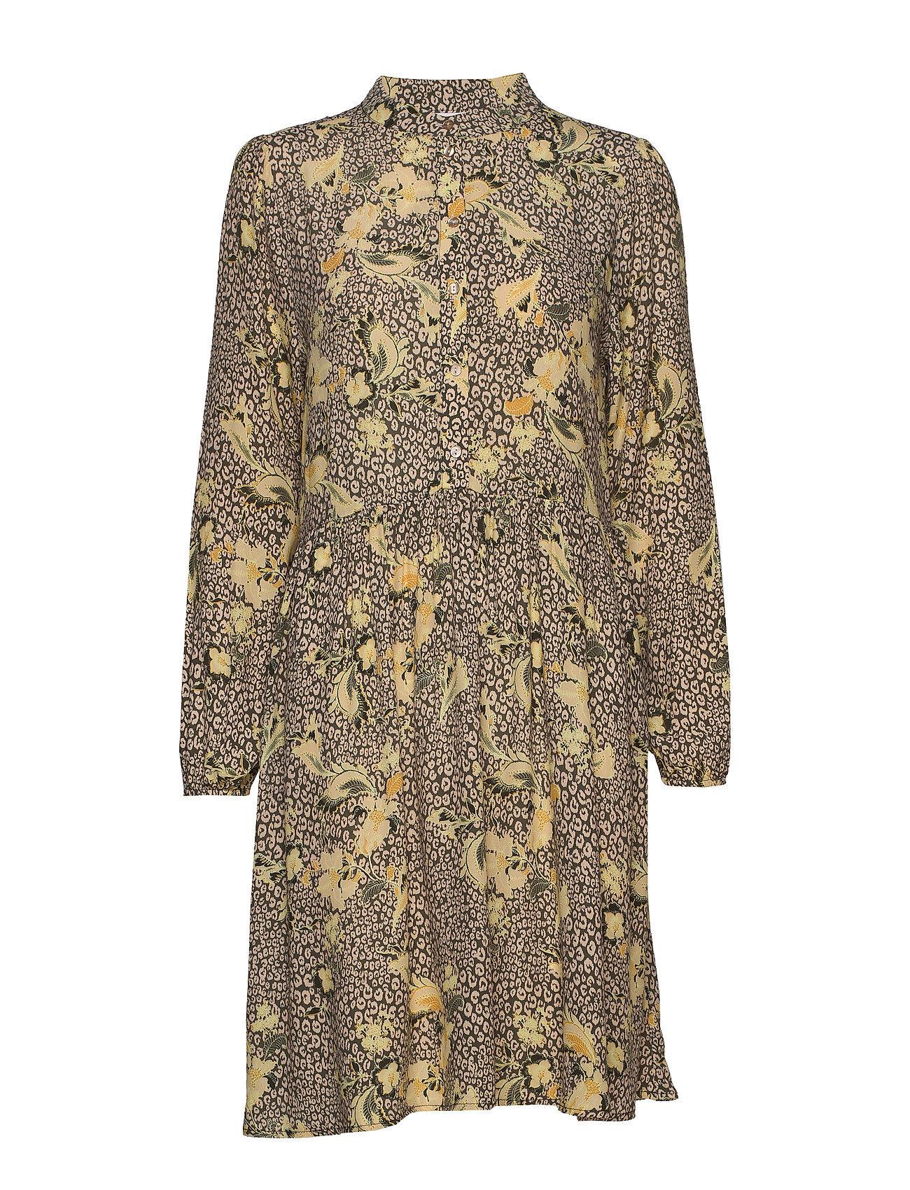 Saint Tropez Jennasz Paisley Woven Dress Animal Lyhyt Mekko Monivärinen/Kuvioitu Saint Tropez