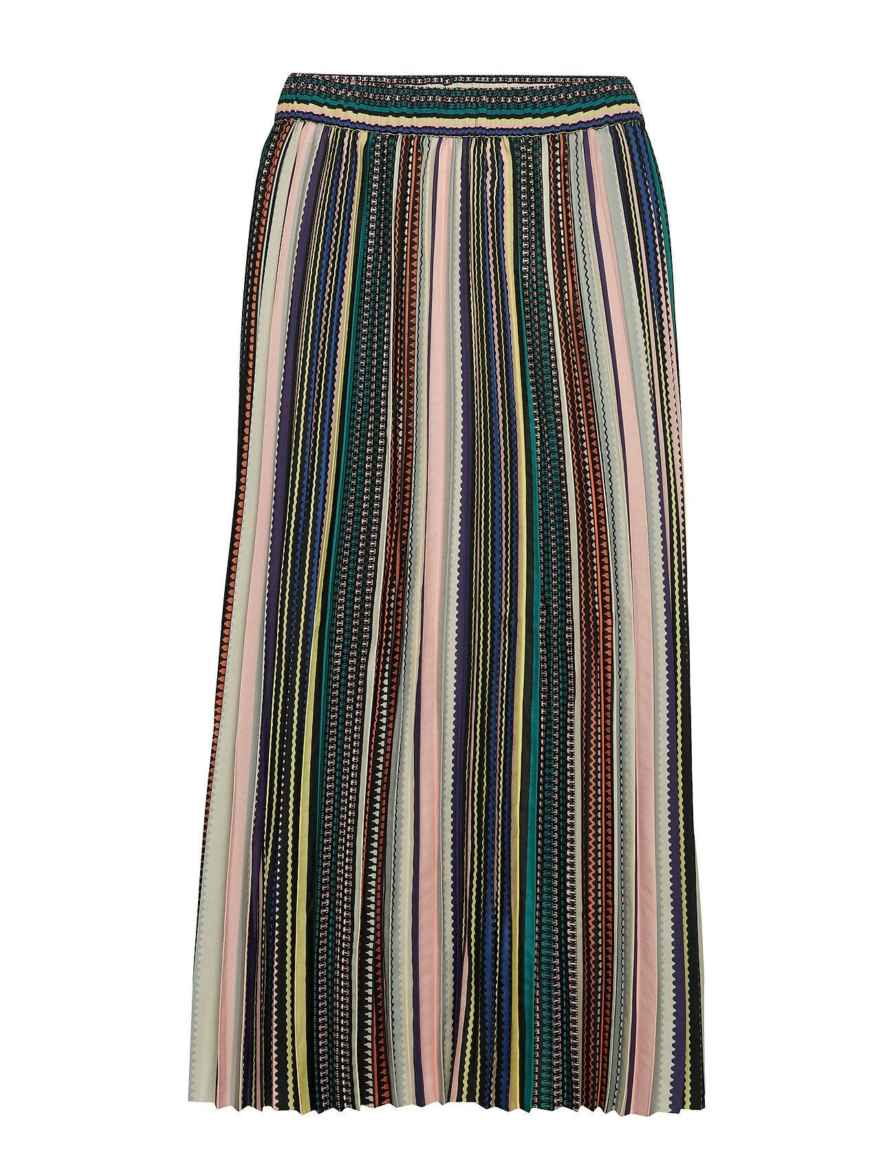 Second Female Annoal Skirt Polvipituinen Hame Monivärinen/Kuvioitu Second Female