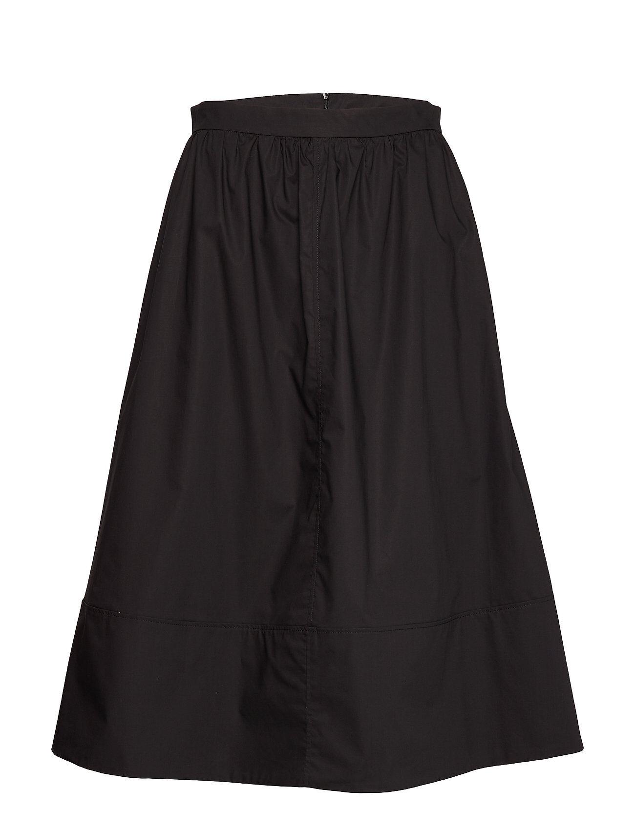 Second Female Phoebe Hw Midi Skirt Polvipituinen Hame Musta Second Female