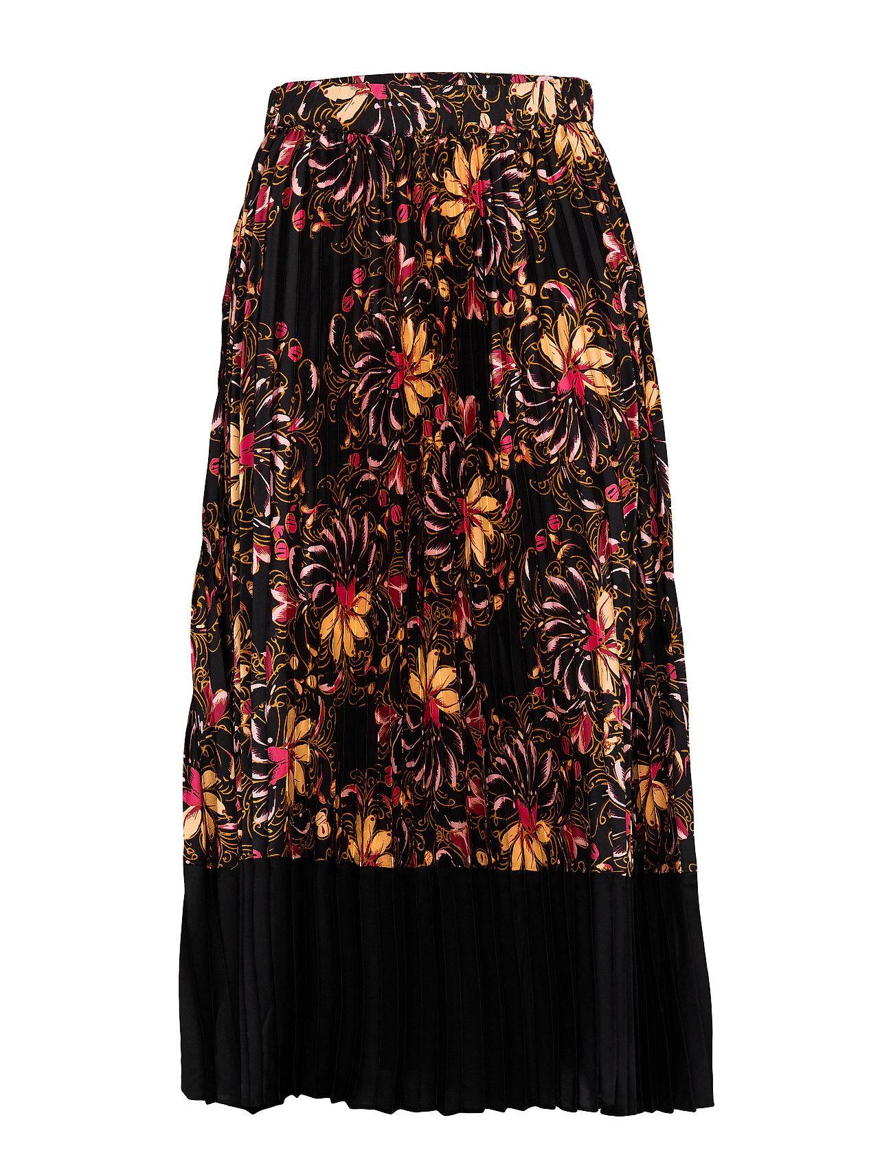Second Female Power Hw Skirt Polvipituinen Hame Musta Second Female