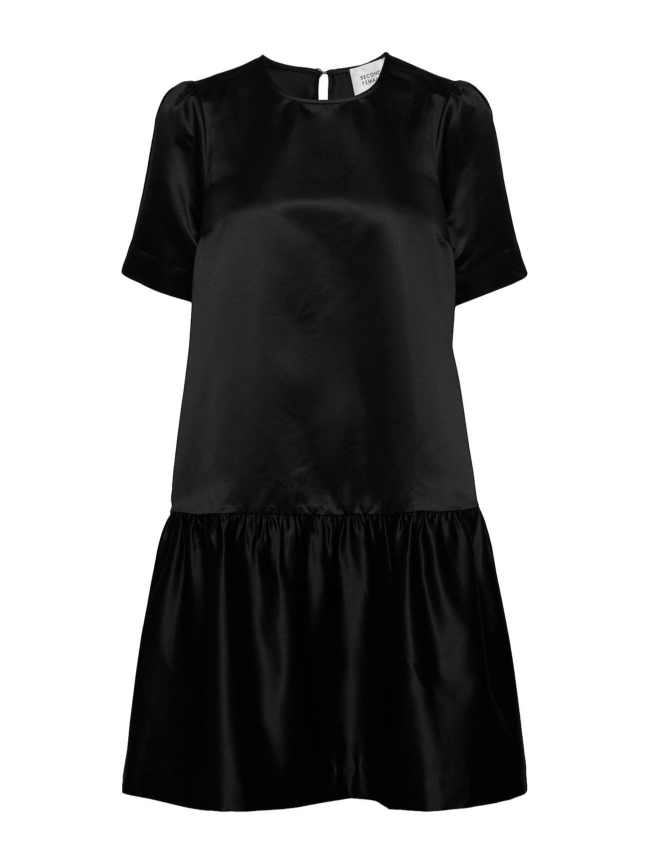 Second Female Starborn Ss Dress Lyhyt Mekko Musta Second Female