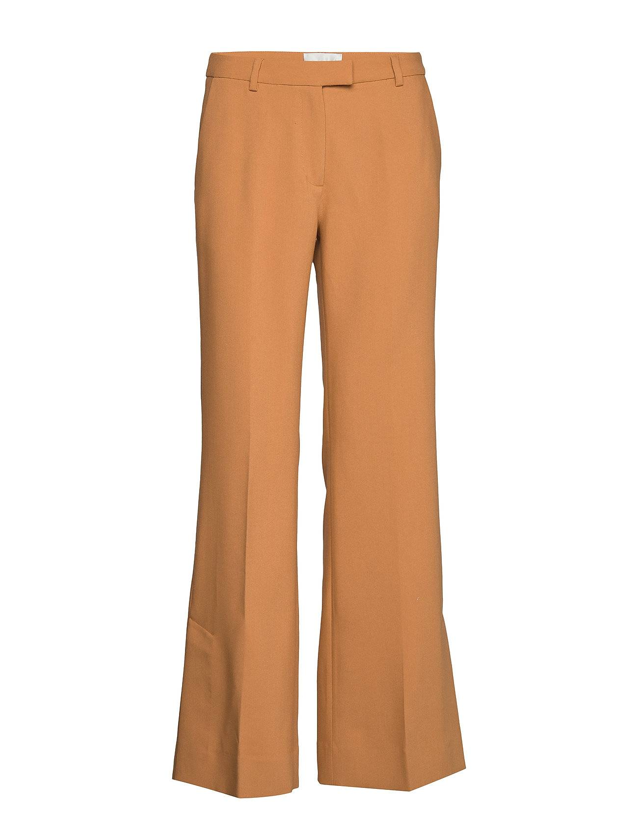 Second Female Honny Hw Trousers Suoralahkeiset Housut Oranssi Second Female