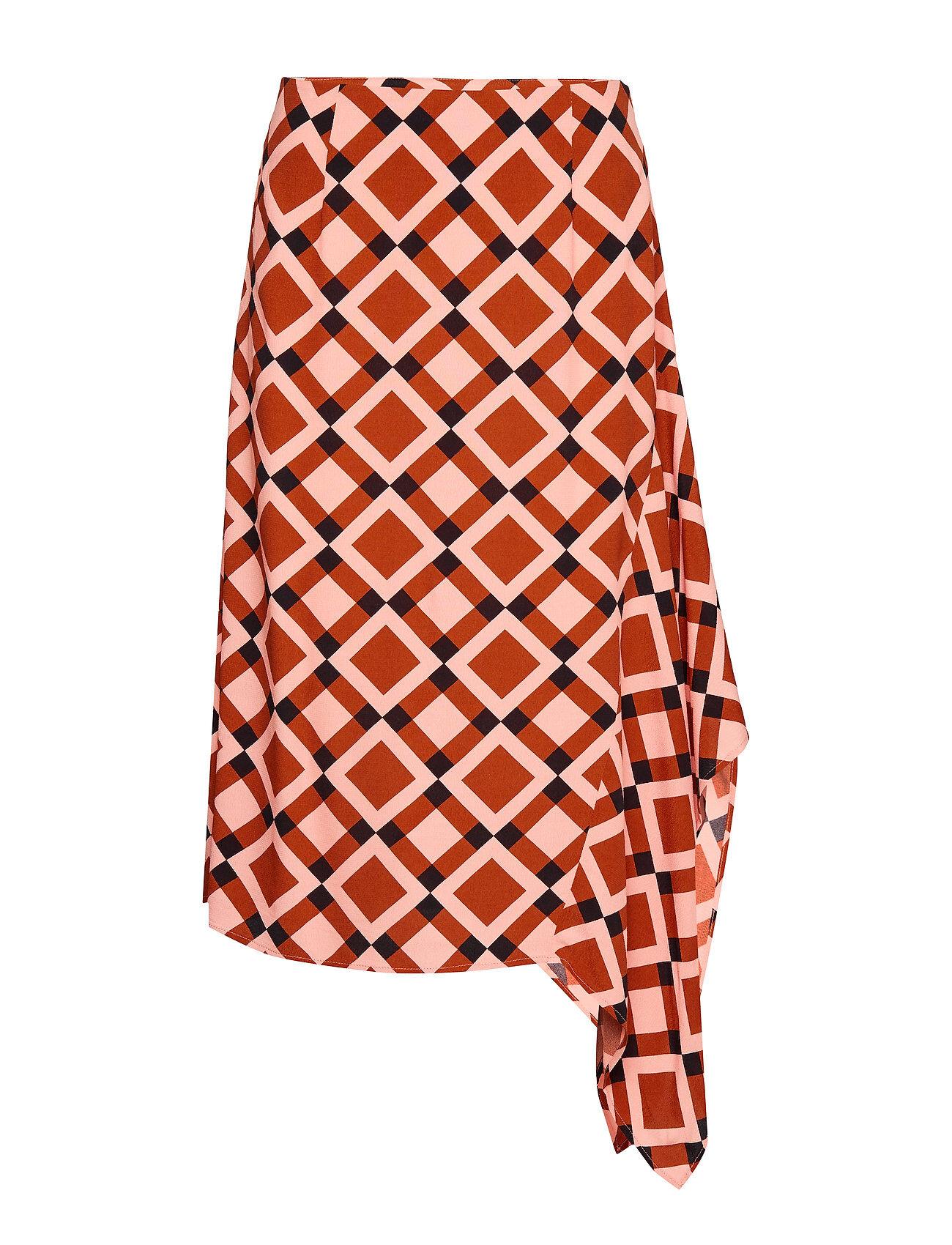 Second Female Grama Skirt Polvipituinen Hame Oranssi Second Female