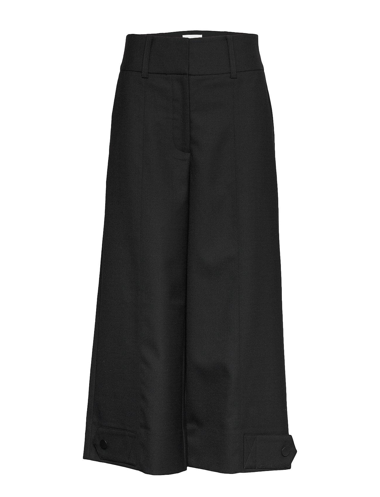 Second Female Madison Hw Trousers Leveälahkeiset Housut Musta Second Female