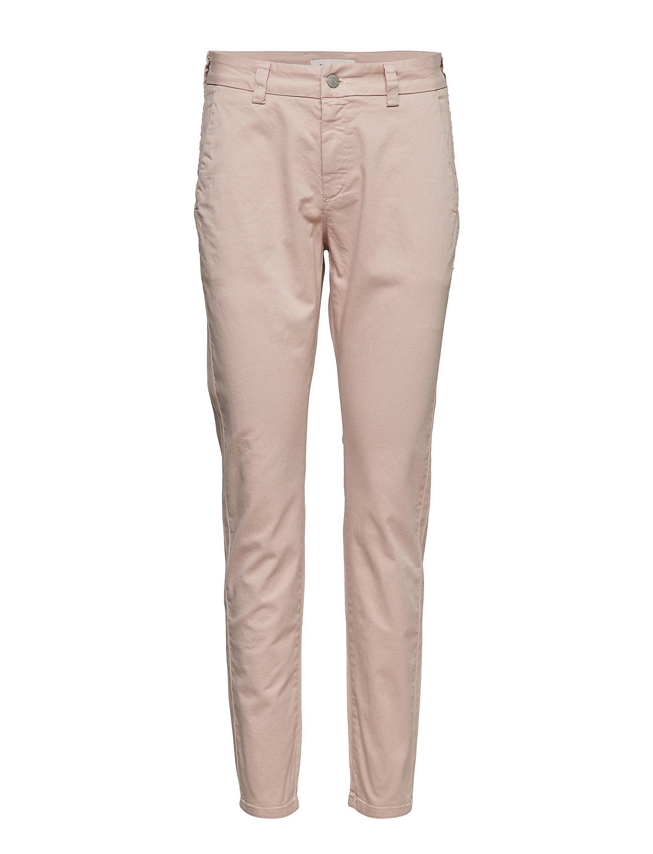 Selected Femme Slfmegan Mw Chino Noos W Chinot Housut Vaaleanpunainen Selected Femme