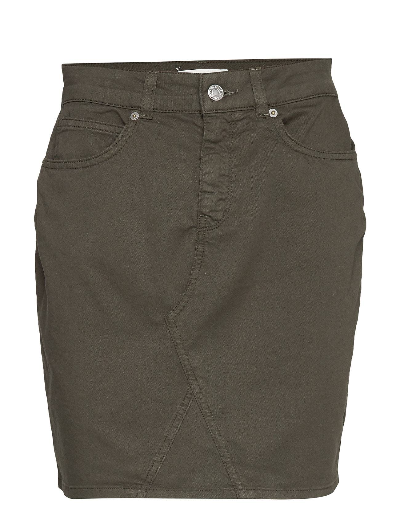Selected Femme Slfmegan Mw Skirt W Lyhyt Hame Vihreä Selected Femme