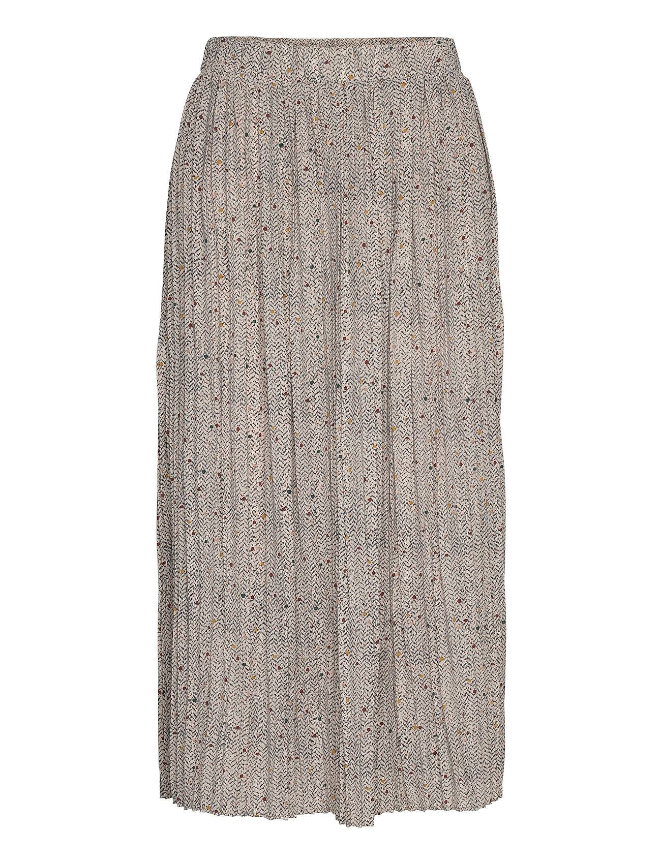 Selected Femme Slfcara Mw Skirt Ex Polvipituinen Hame Harmaa Selected Femme