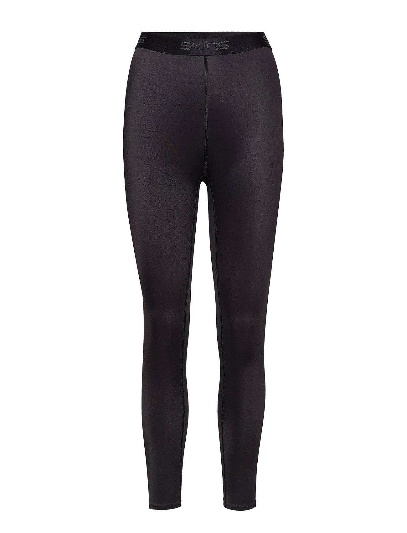Image of Skins Dnamic Womens 7/8 Tights Running/training Tights Musta Skins