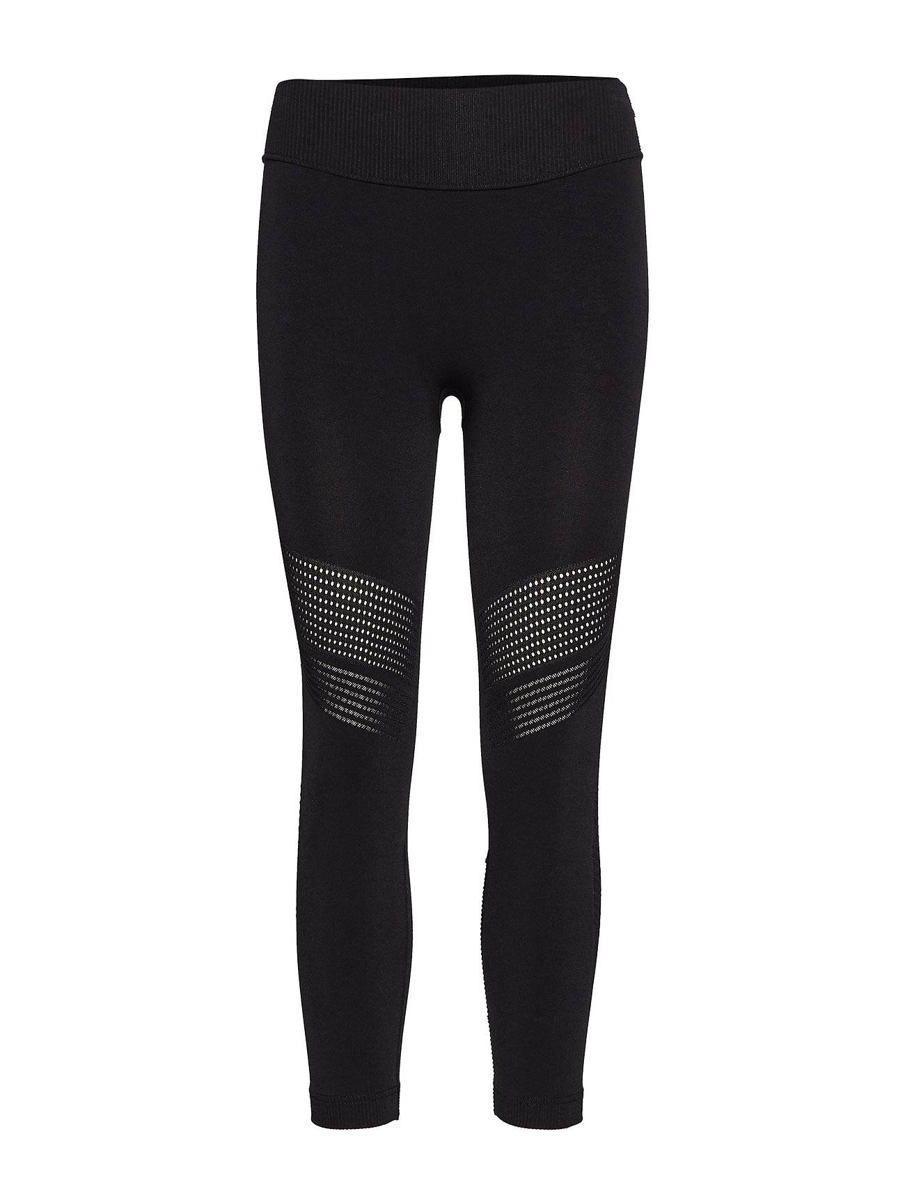 Image of Skins Dnamic Seamless Square Womens 7/8 Tights Running/training Tights Musta