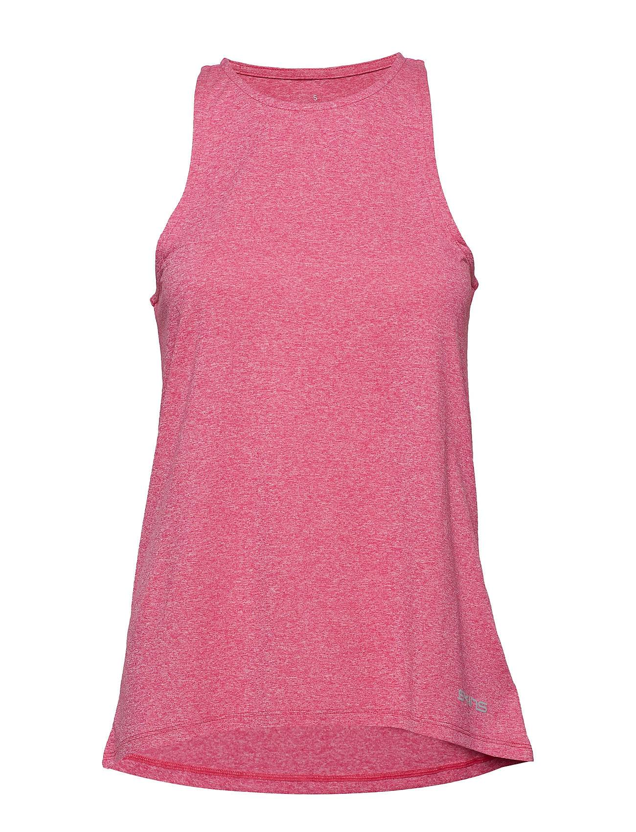 Skins Activewear Siken Womens Tank Top T-shirts & Tops Sleeveless Vaaleanpunainen Skins