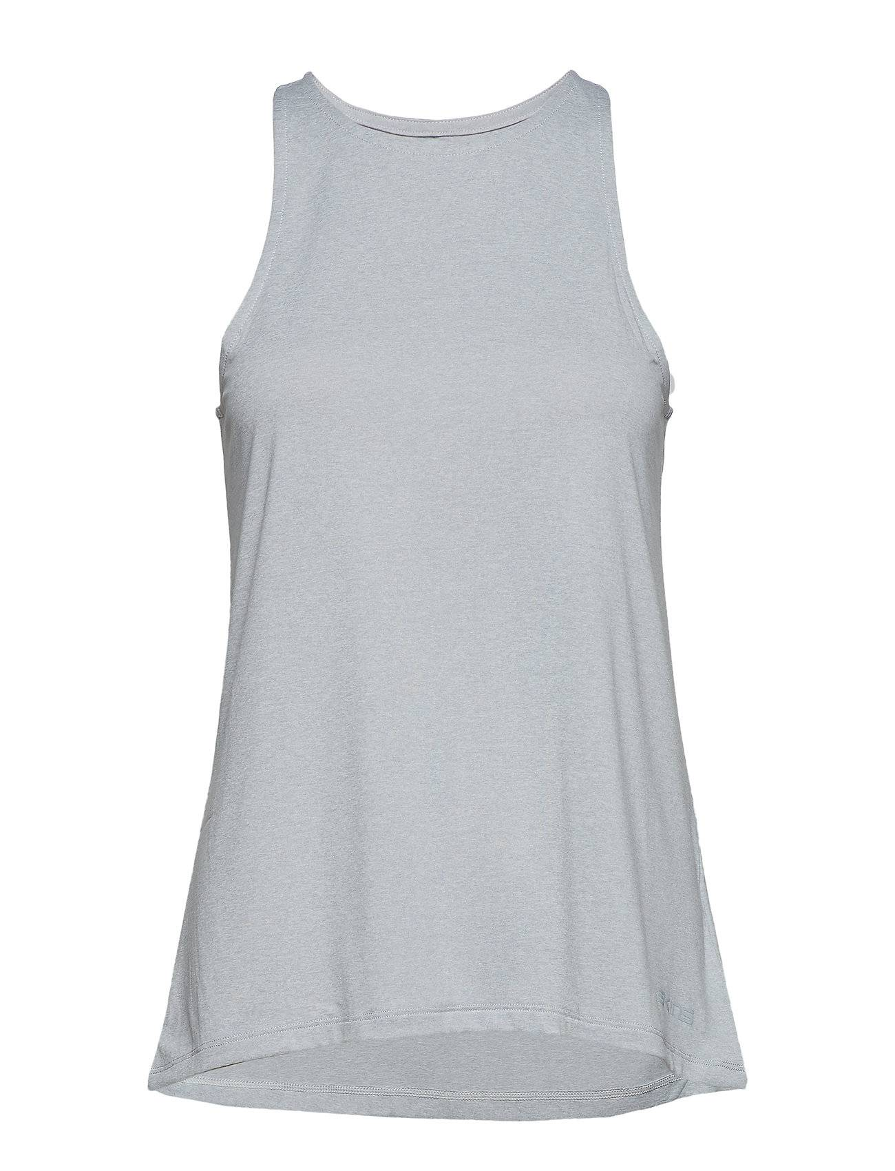 Skins Activewear Siken Womens Tank Top T-shirts & Tops Sleeveless Harmaa Skins