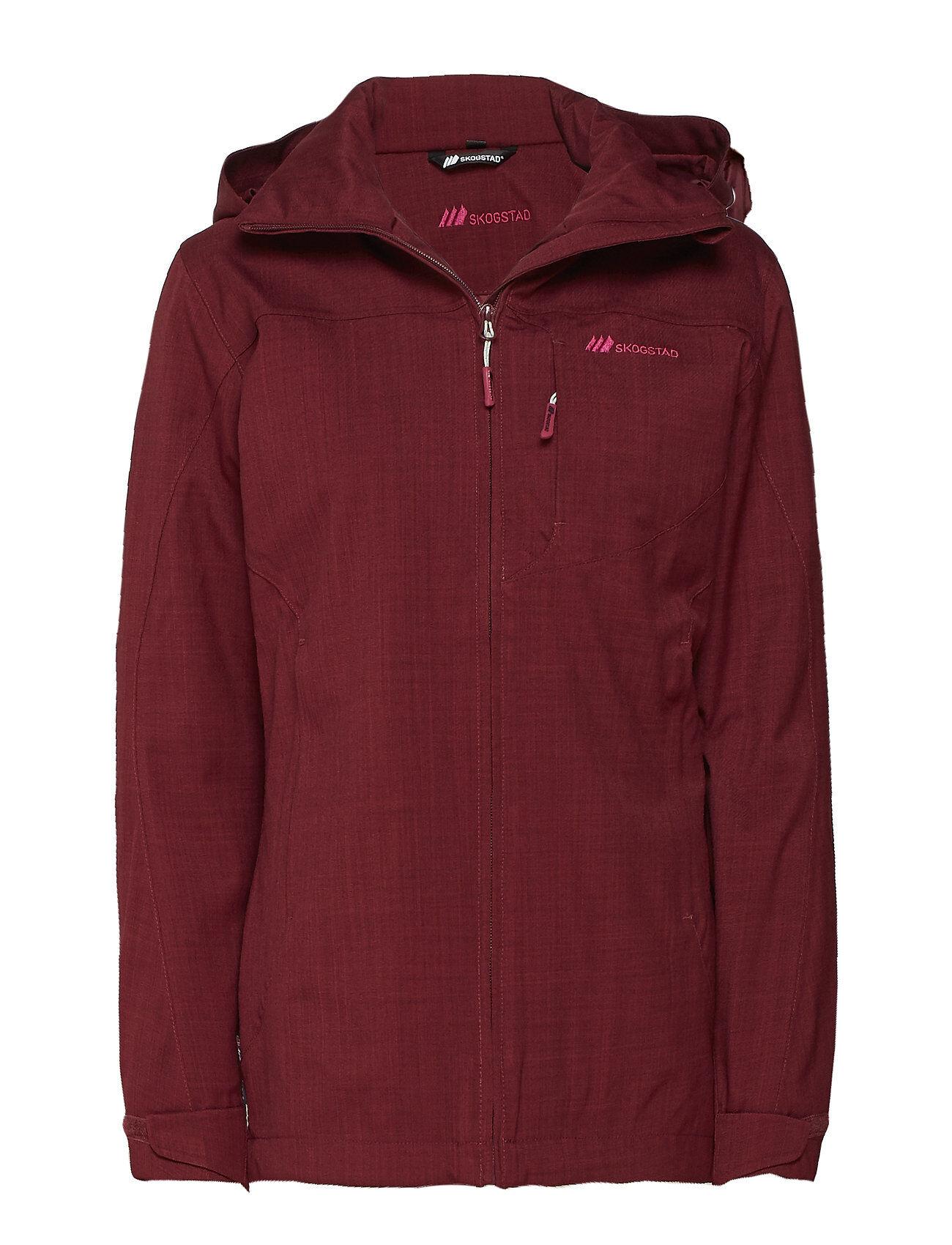 Skogstad Branden 2-Layer Technical Jacket Outerwear Sport Jackets Punainen