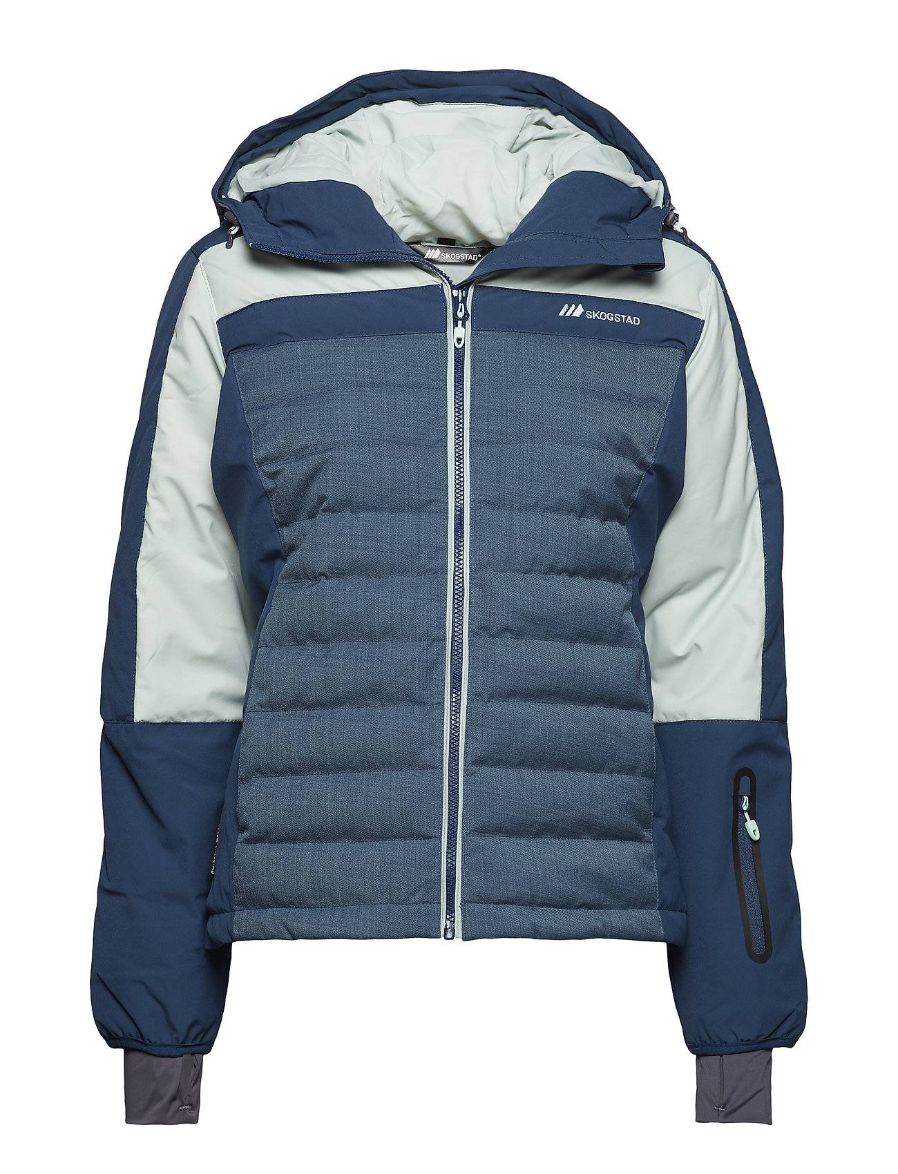 Skogstad Milde Down Jacket Outerwear Sport Jackets Sininen Skogstad
