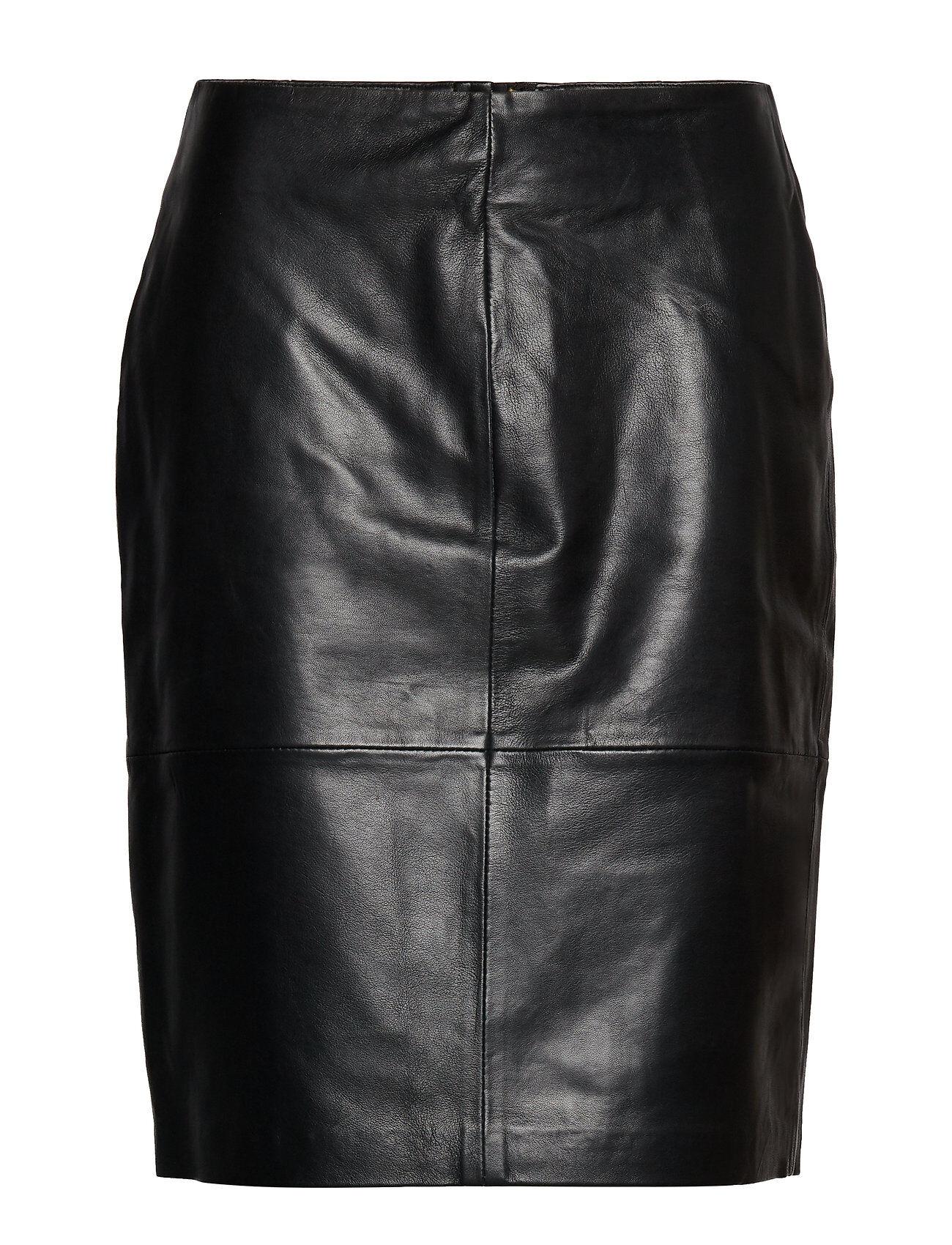 Soaked in Luxury Slfolly Skirt Lyhyt Hame Musta Soaked In Luxury