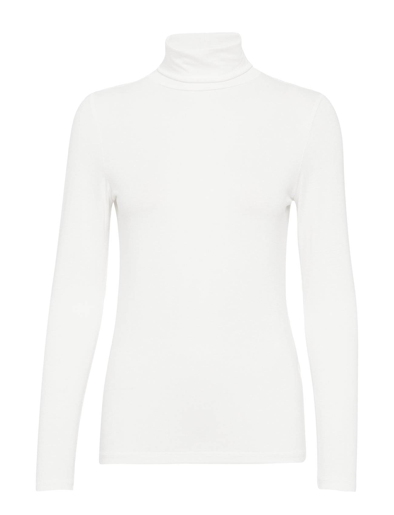 Soaked in Luxury Hanadi Rollneck Ls T-shirts & Tops Long-sleeved Valkoinen Soaked In Luxury