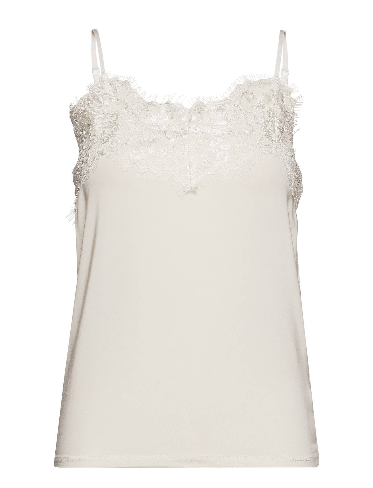 Soaked in Luxury Slclara Singlet T-shirts & Tops Sleeveless Valkoinen Soaked In Luxury