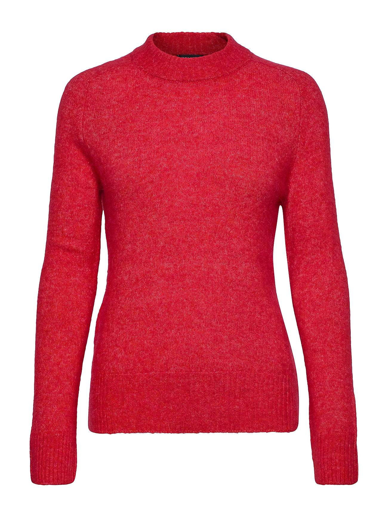 Soaked in Luxury Sl Angel Crew-Neck Pullover Ls Neulepaita Punainen Soaked In Luxury