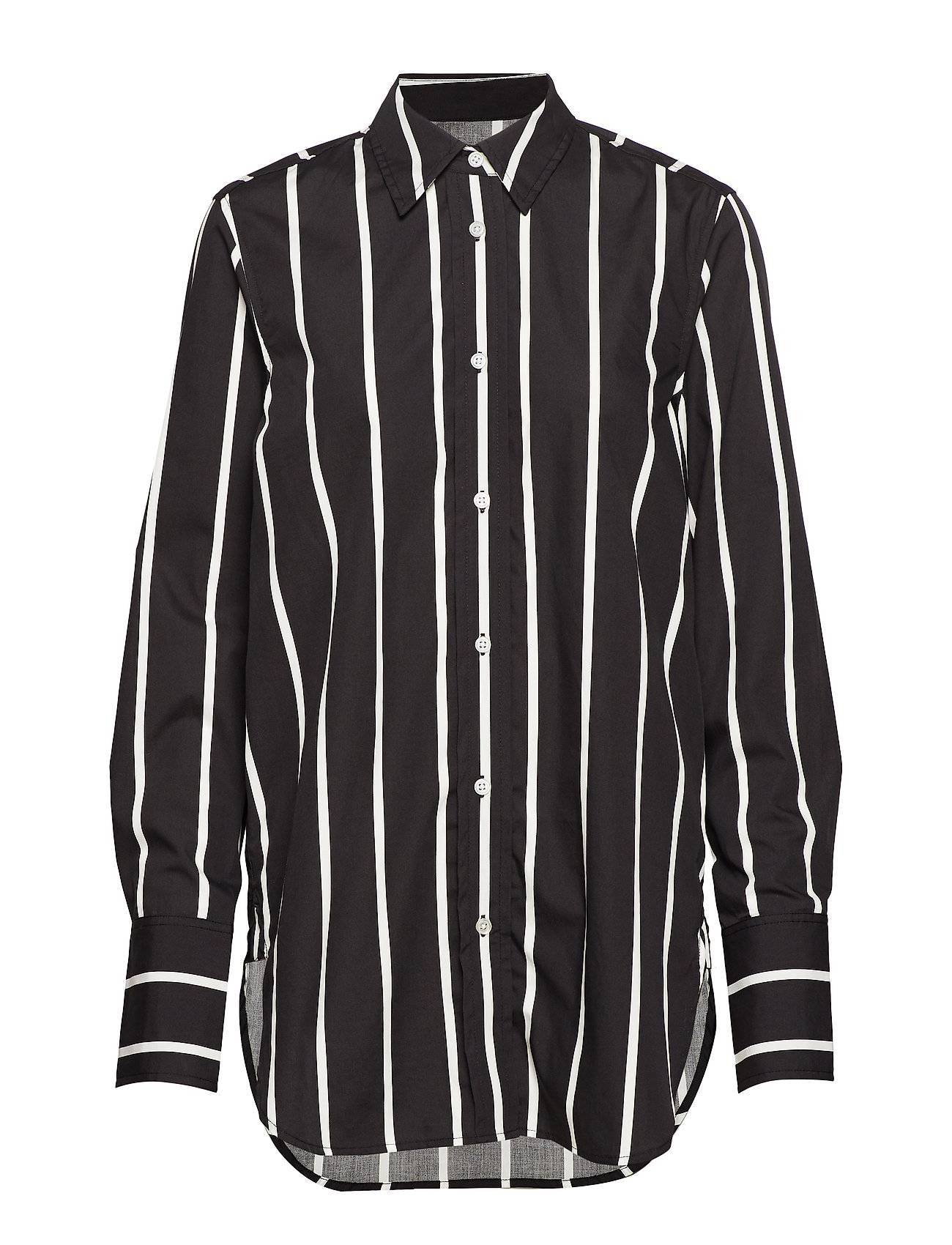 Soaked in Luxury Sl Konnie Shirt Ls Pitkähihainen Paita Musta Soaked In Luxury