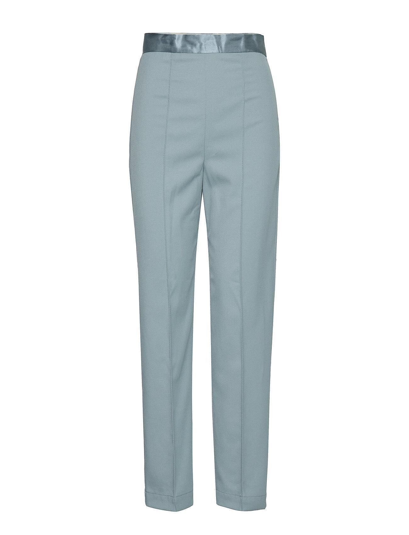 Soaked in Luxury Sl Beatrix Pants Suoralahkeiset Housut Sininen Soaked In Luxury