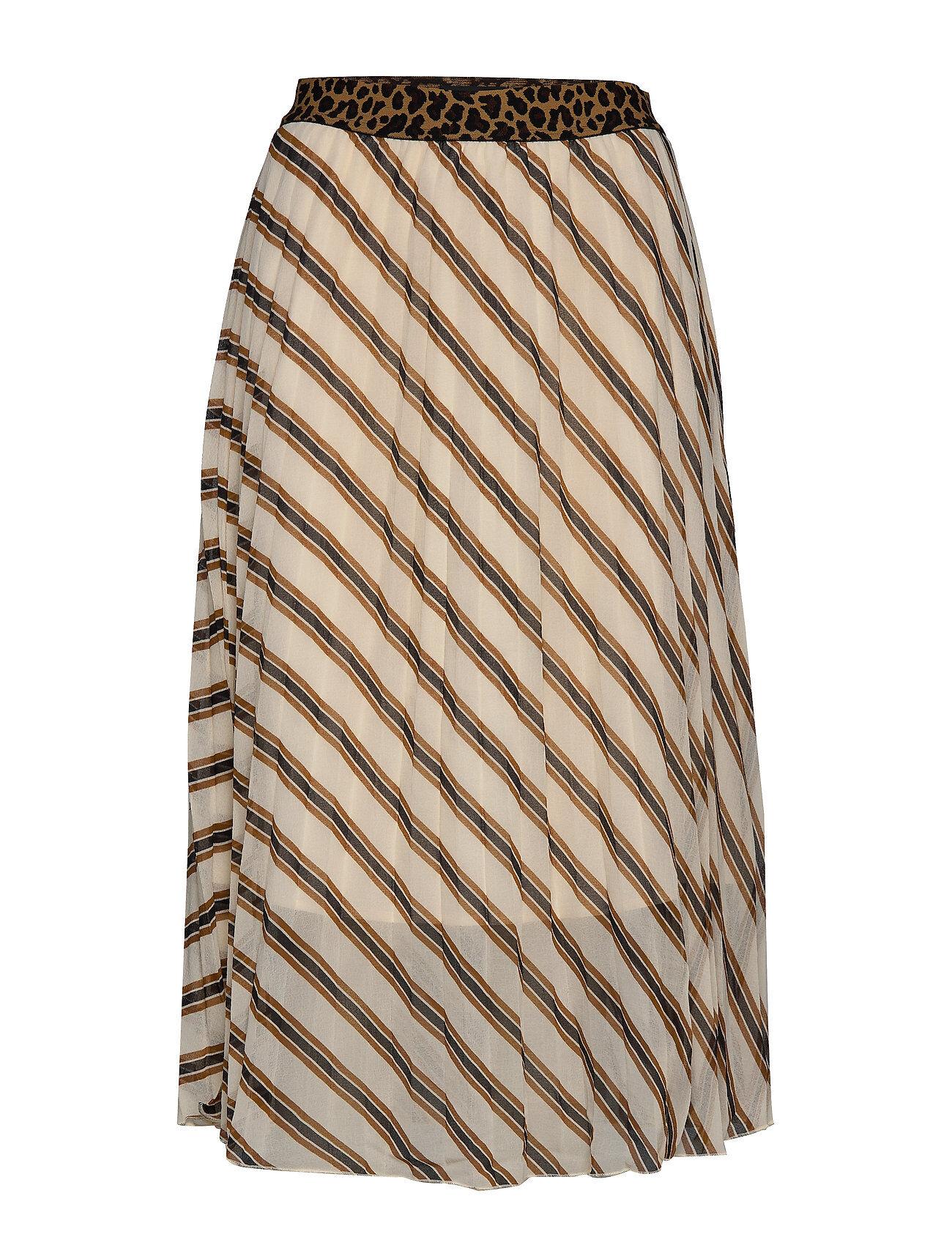 Soaked in Luxury Slamily Skirt Polvipituinen Hame Monivärinen/Kuvioitu Soaked In Luxury