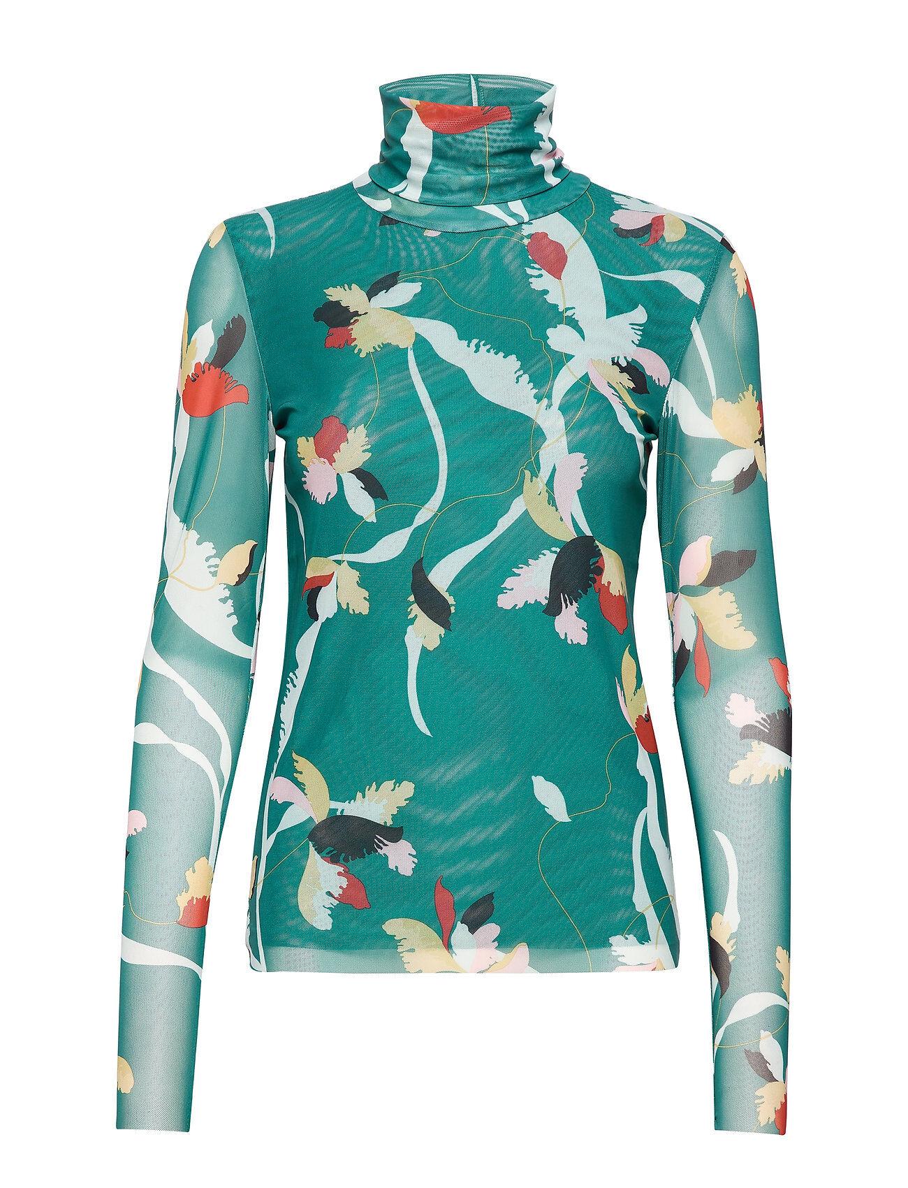 Soaked in Luxury Slnadine T-Shirt Ls T-shirts & Tops Long-sleeved Vihreä Soaked In Luxury