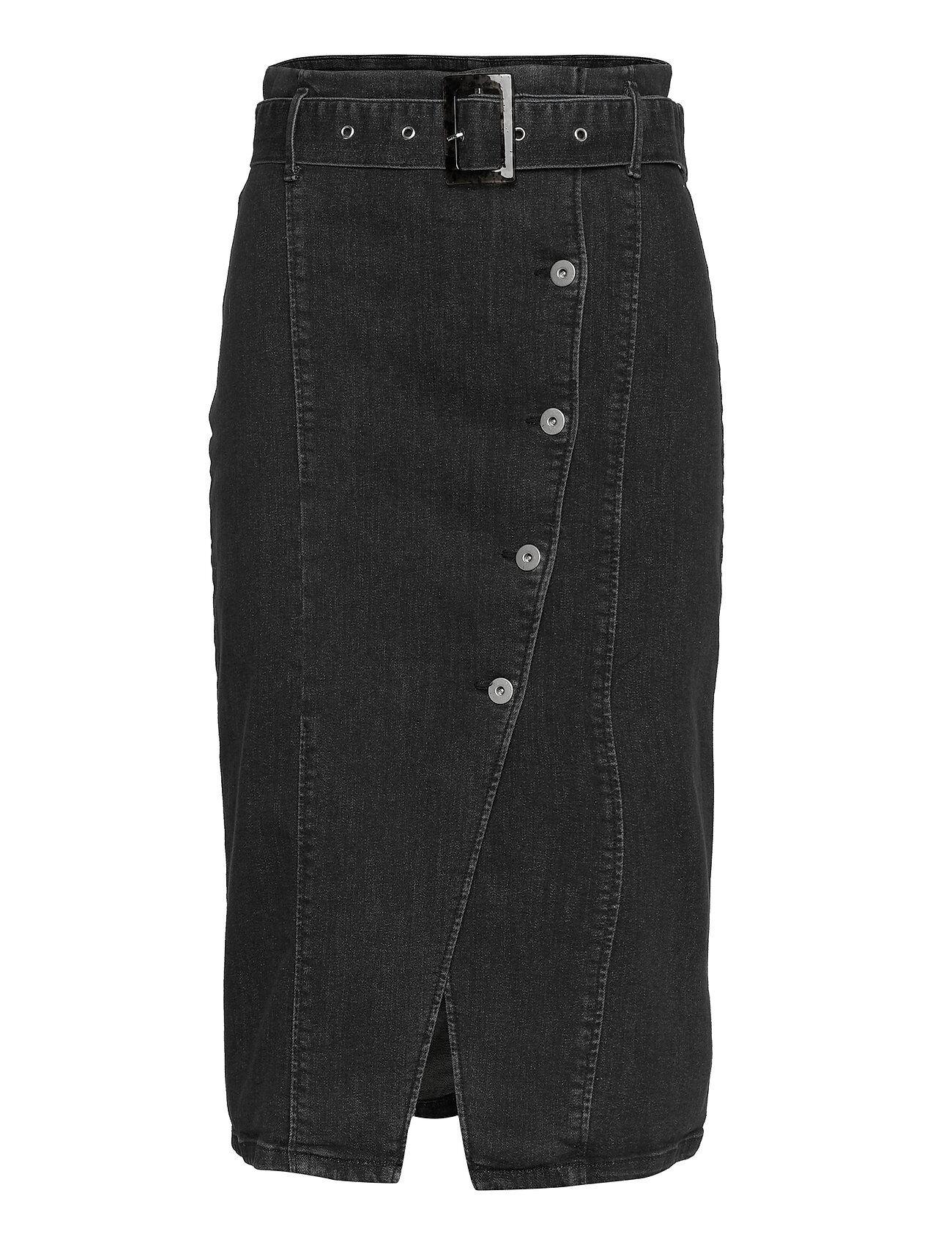Soaked in Luxury Slbeso Skirt Pitkä Hame Musta Soaked In Luxury