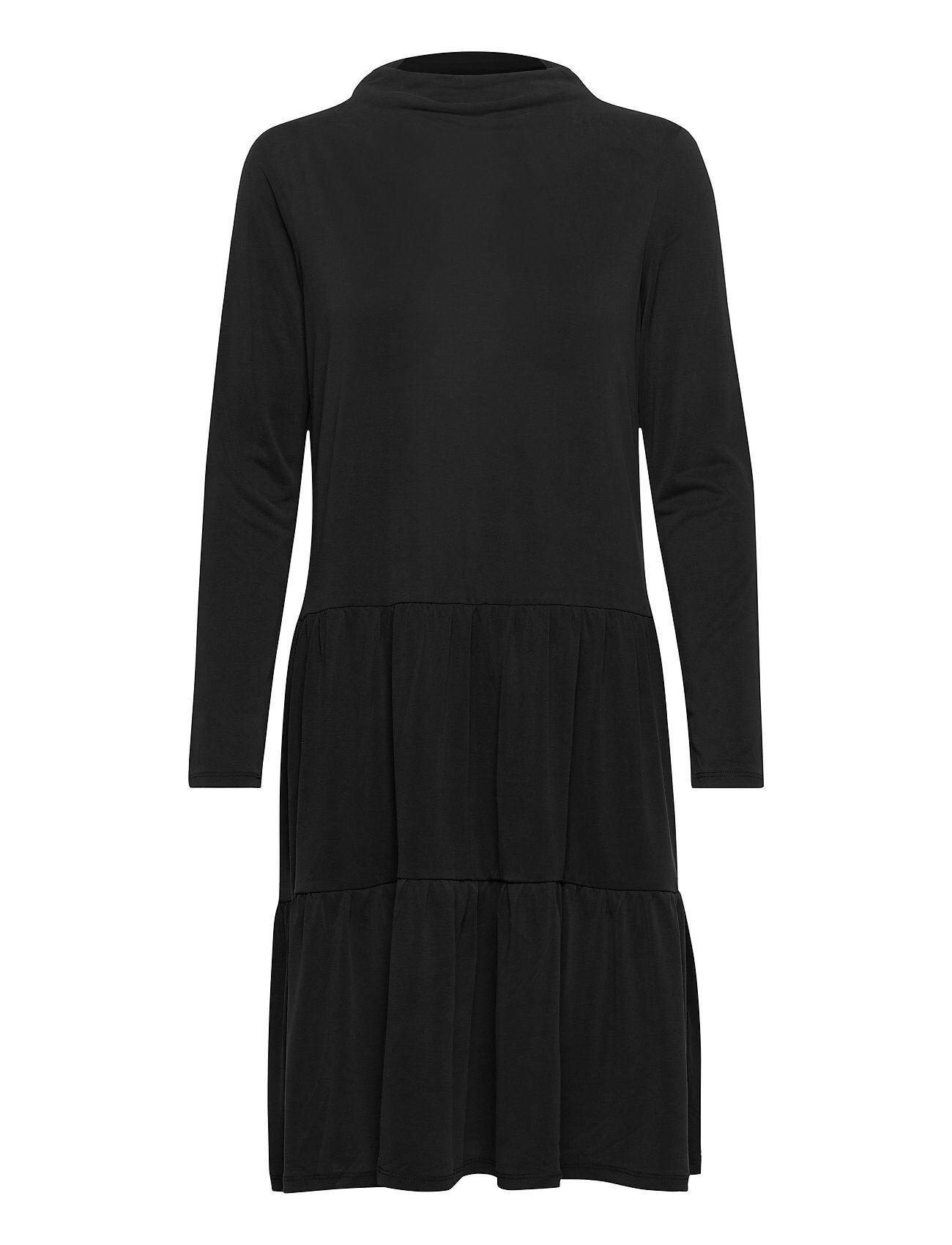 Soaked in Luxury Slcolissa Dress Polvipituinen Mekko Musta Soaked In Luxury