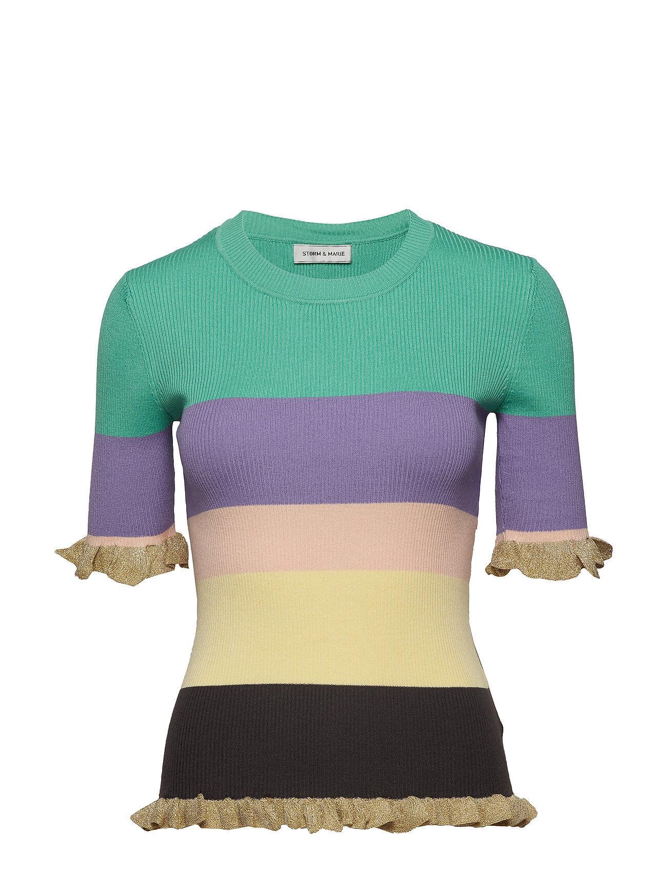 STORM & MARIE Alma-Ss T-shirts & Tops Short-sleeved Vihreä STORM & MARIE