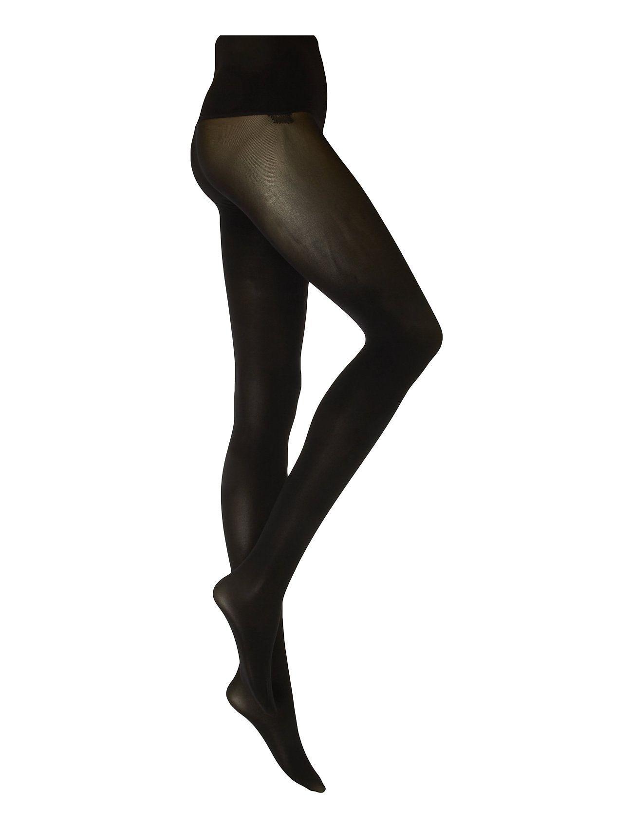 Image of Swedish Stockings Hanna Premium Seamless Tights 40d Sukkahousut Musta Swedish Stockings