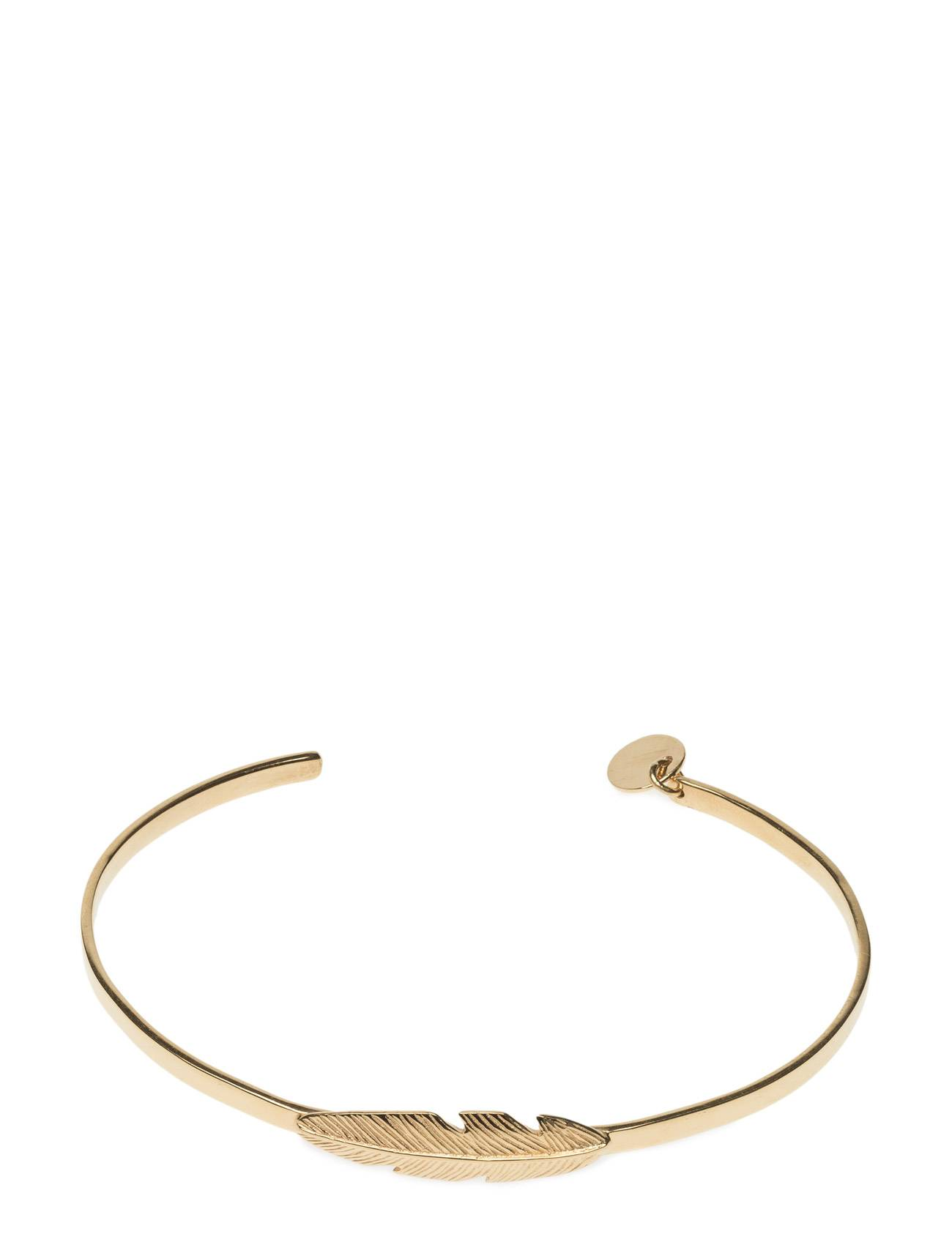Syster P Feather Bangle Gold