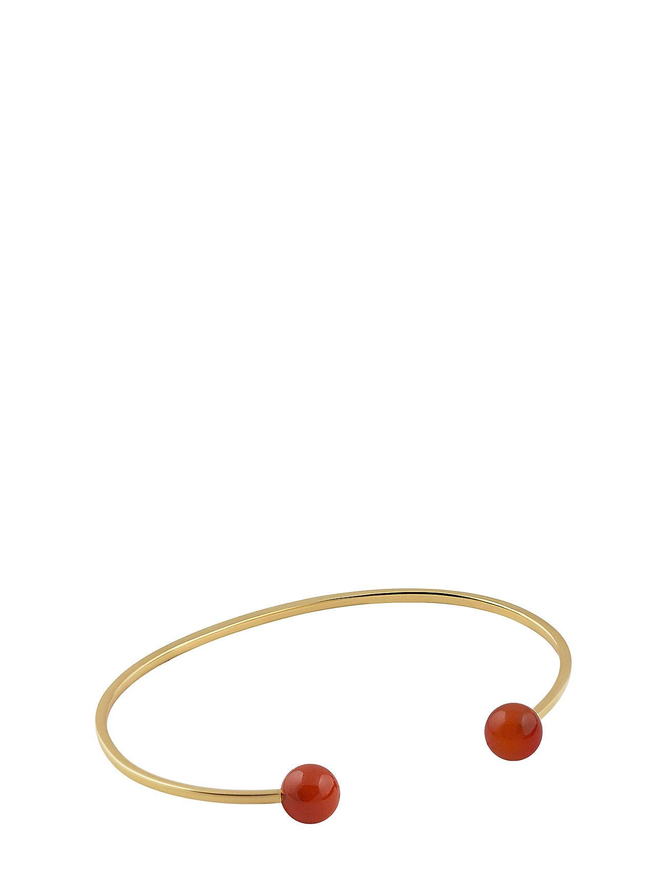 Syster P Planet Bracelet Gold Red Onyx
