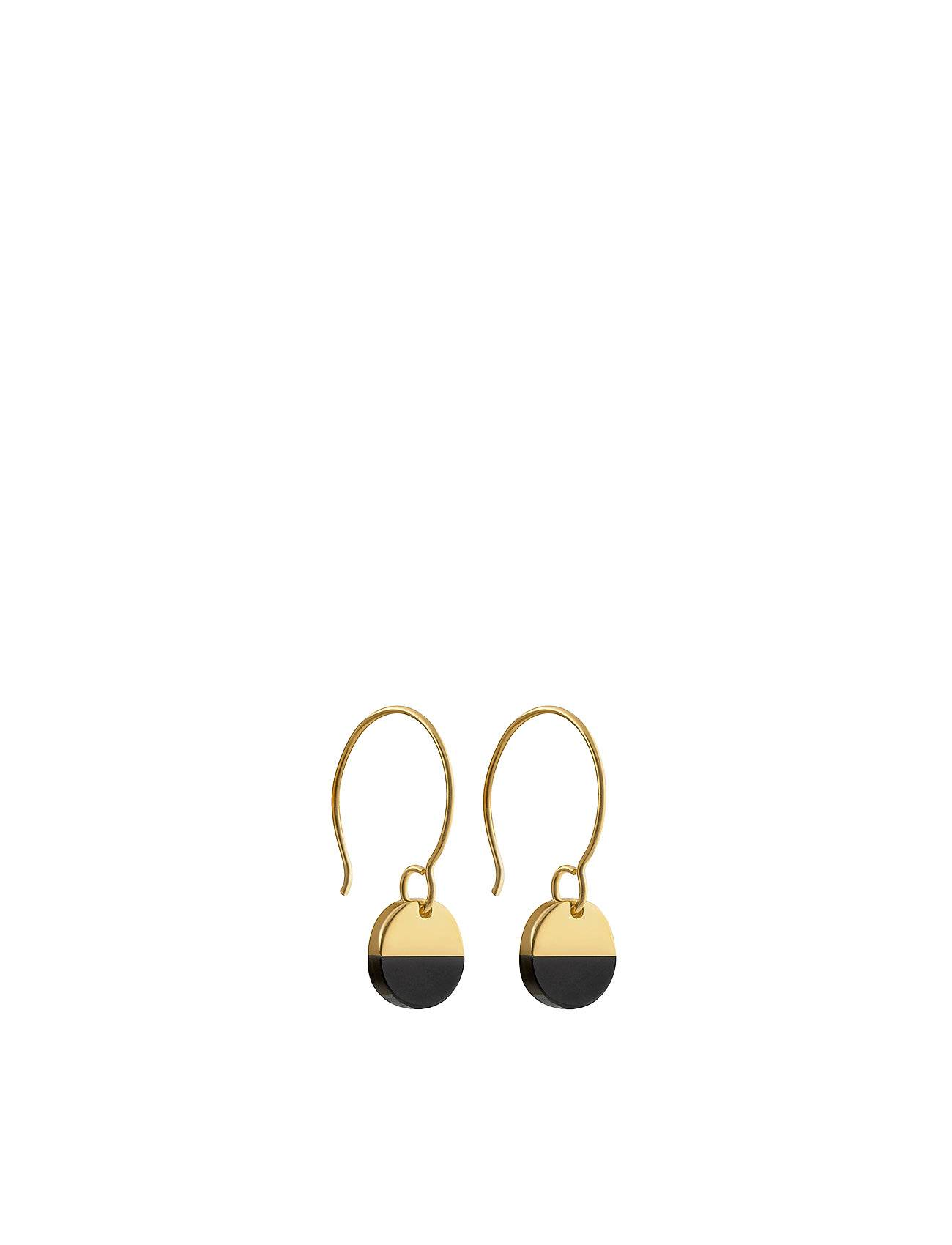 Syster P Dixxi Earrings Black Onyx