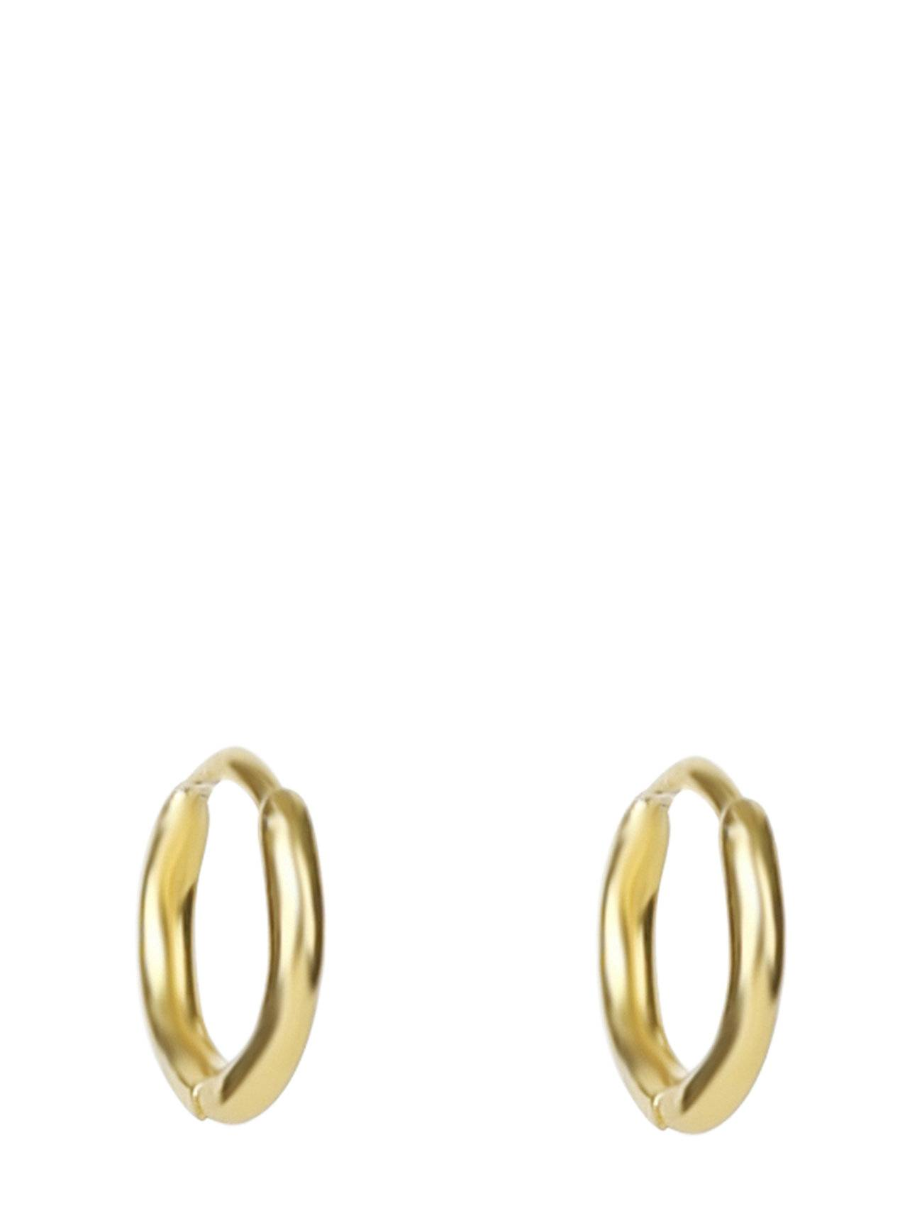 Syster P Mini Hoop Earrings Gold Accessories Jewellery Earrings Hoops Kulta Syster P