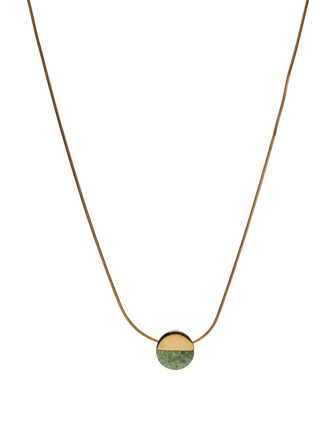 Syster P New Dixxi Necklace Green Aventurine