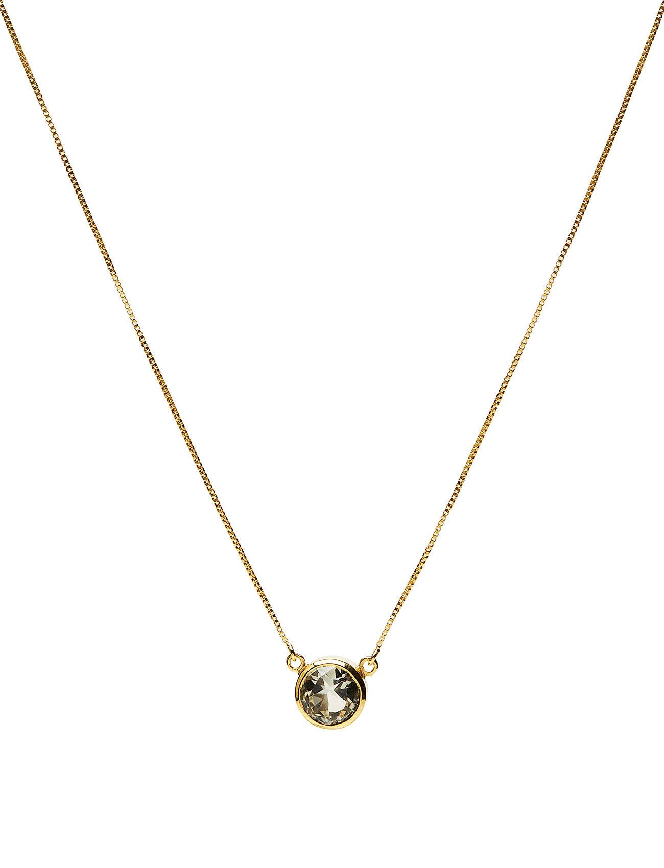Syster P Lone Star Necklace Green Amethyst, Gold