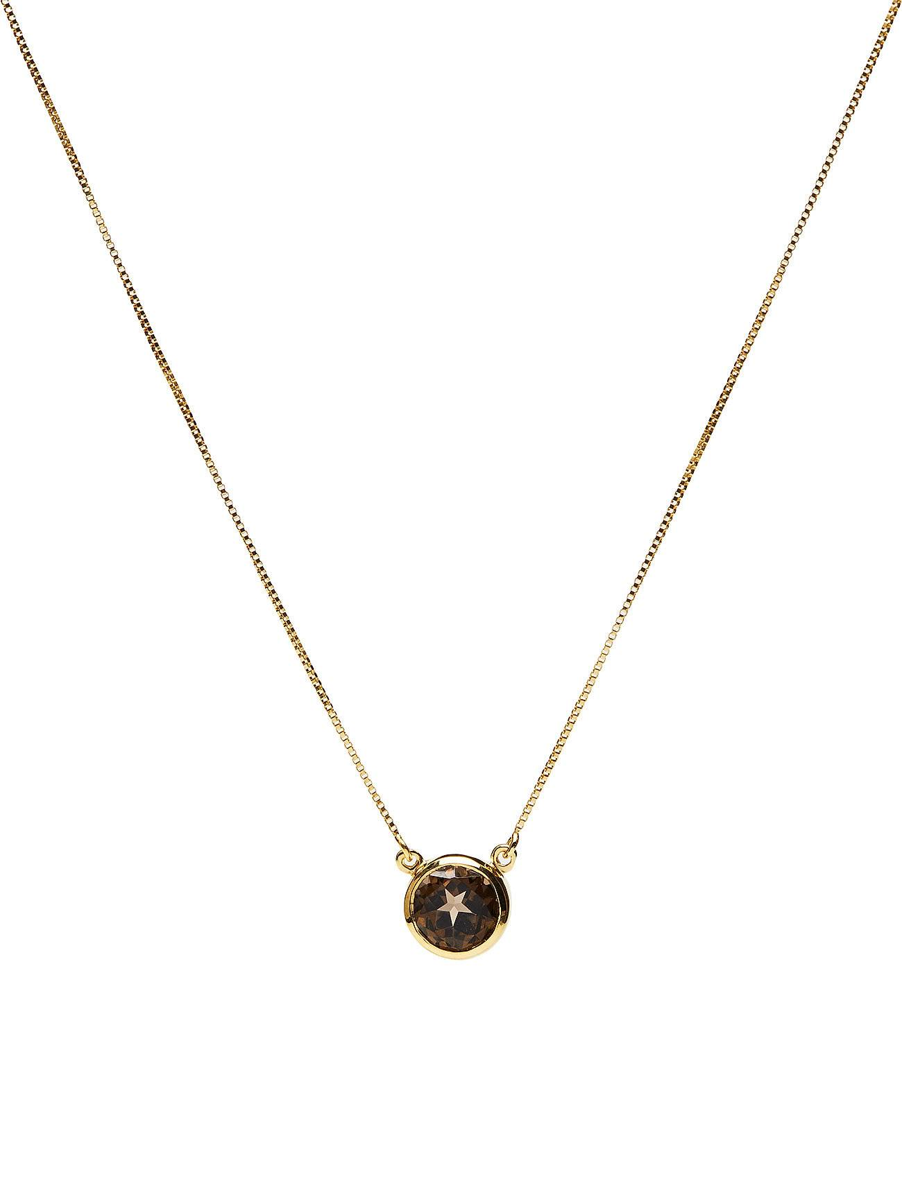 Syster P Lone Star Necklace Smokey, Gold