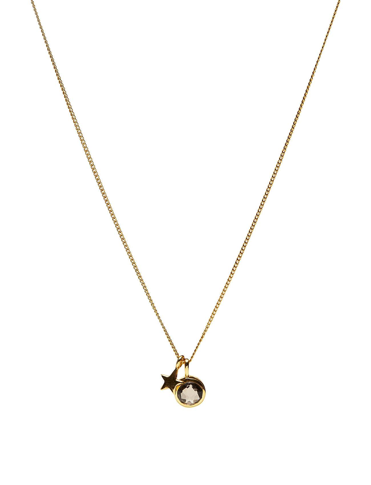 Syster P Priscilla Necklace Gold Moonstone