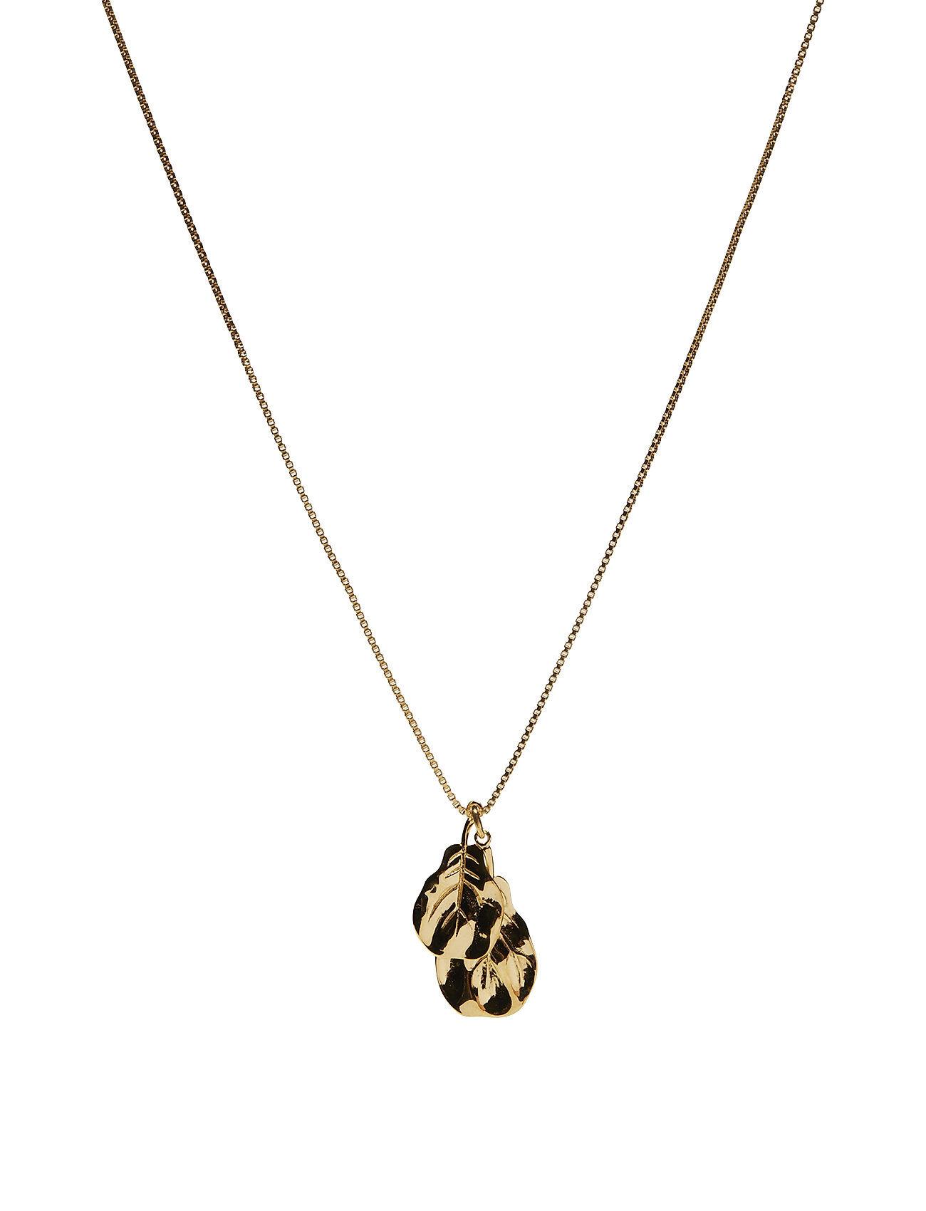 Syster P Botanica Fiddle Leaf Necklace Gold