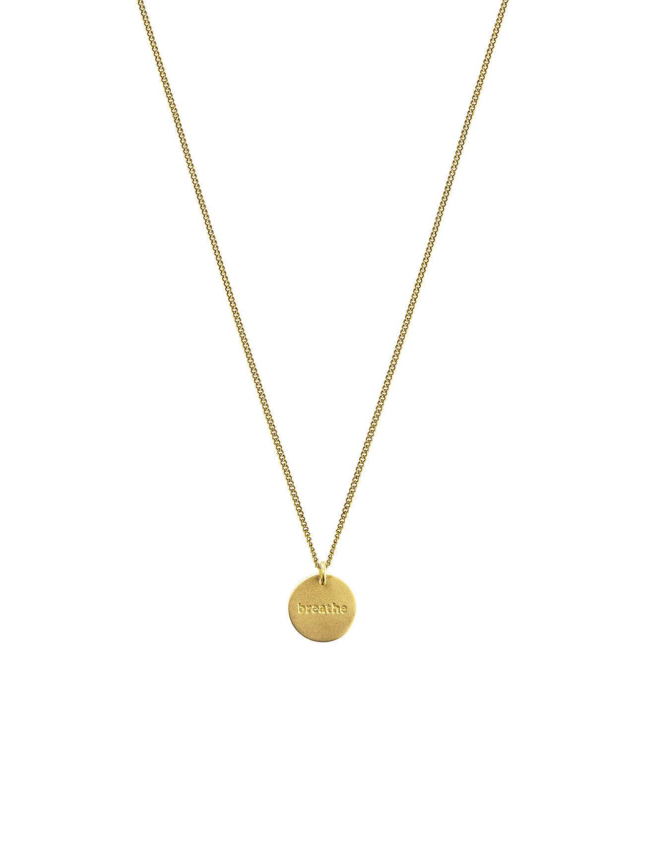 Syster P Minimalistica Breathe Necklace Gold