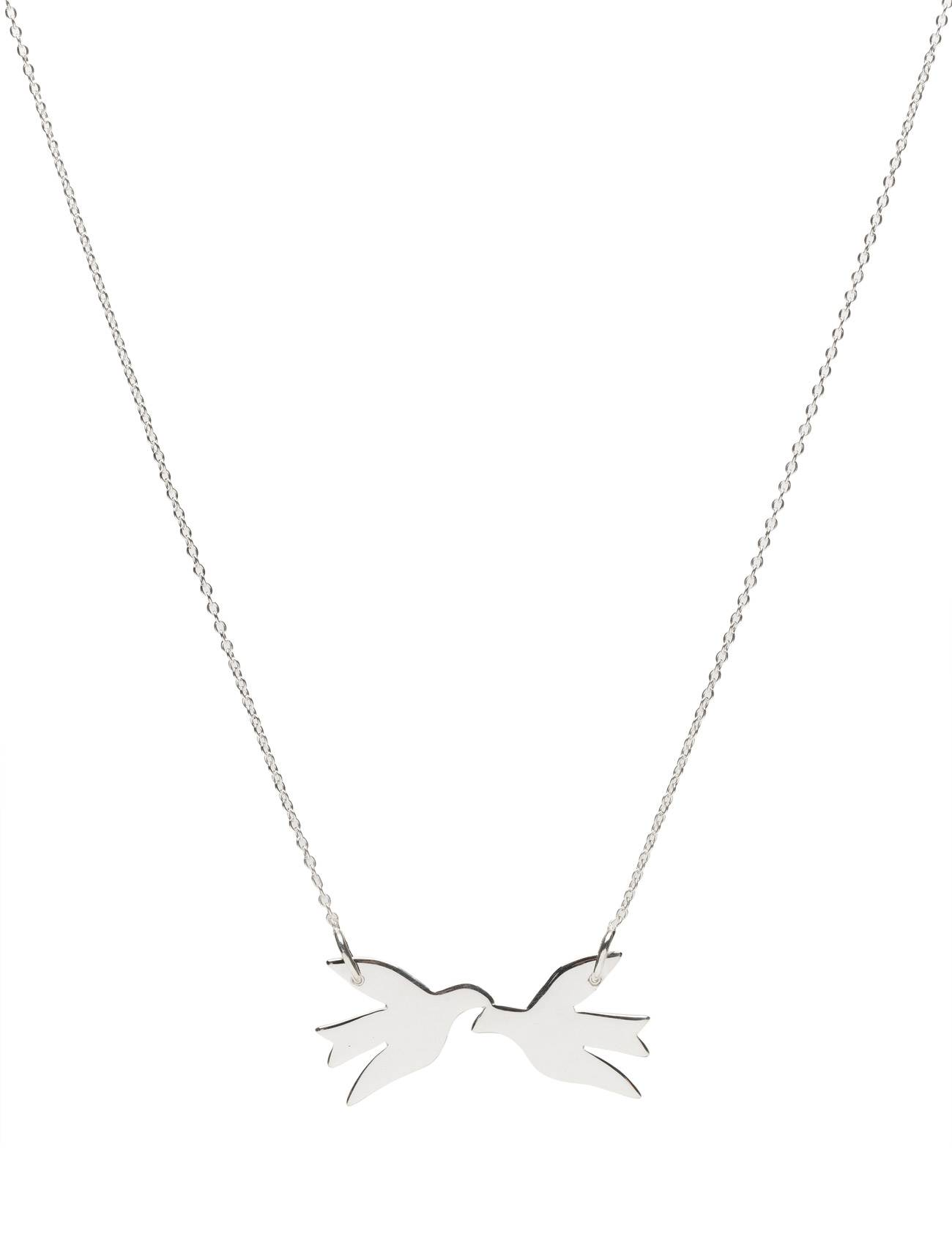 Syster P Birdy Necklace Silver