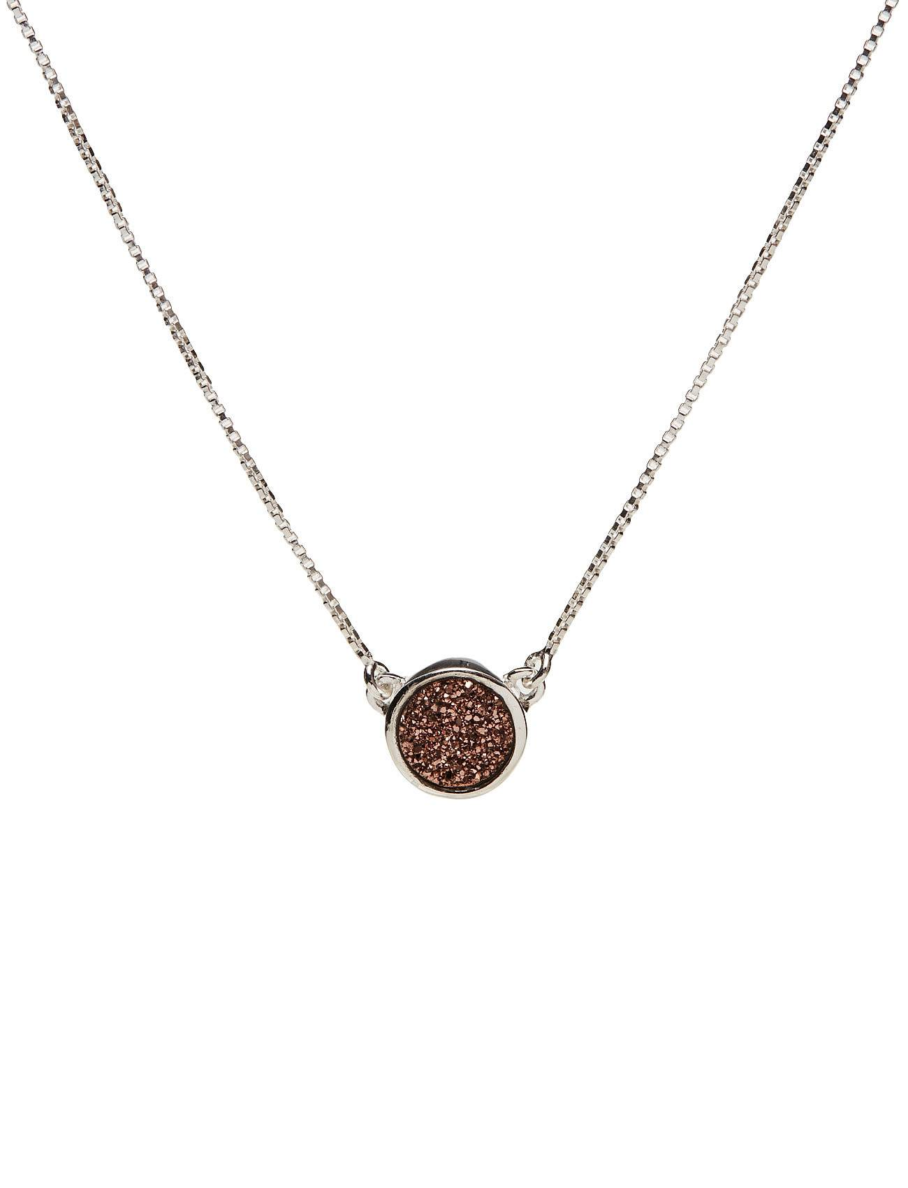 Syster P Frances Druzy Necklace Silver Rose