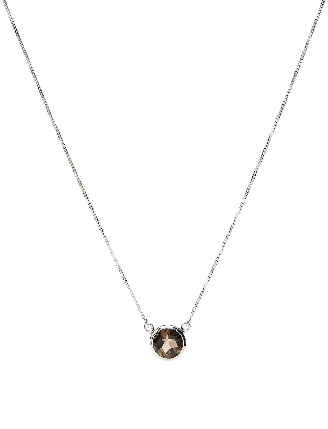 Syster P Lone Star Necklace Smokey, Silver