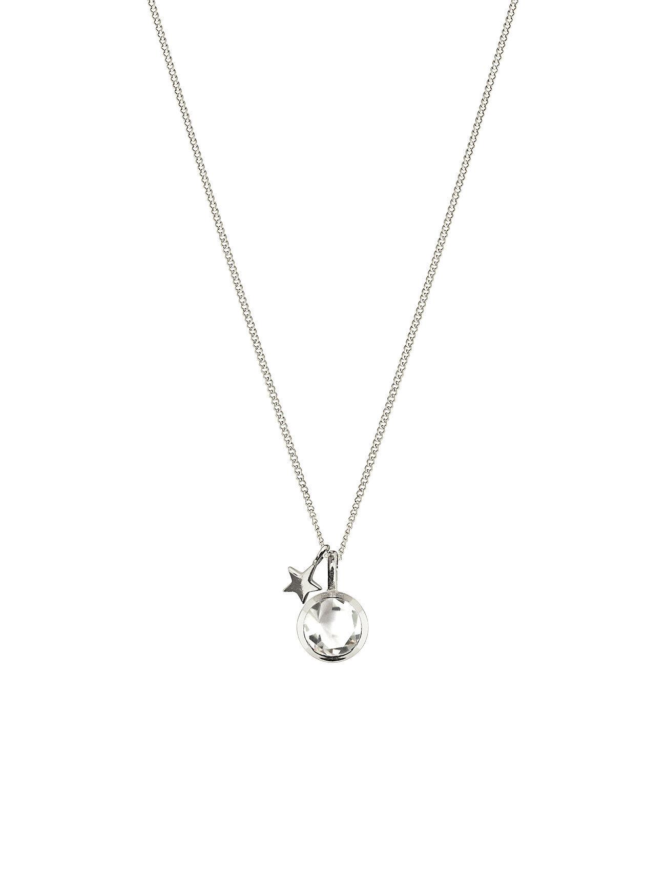 Syster P Priscilla Necklace Silver Crystal