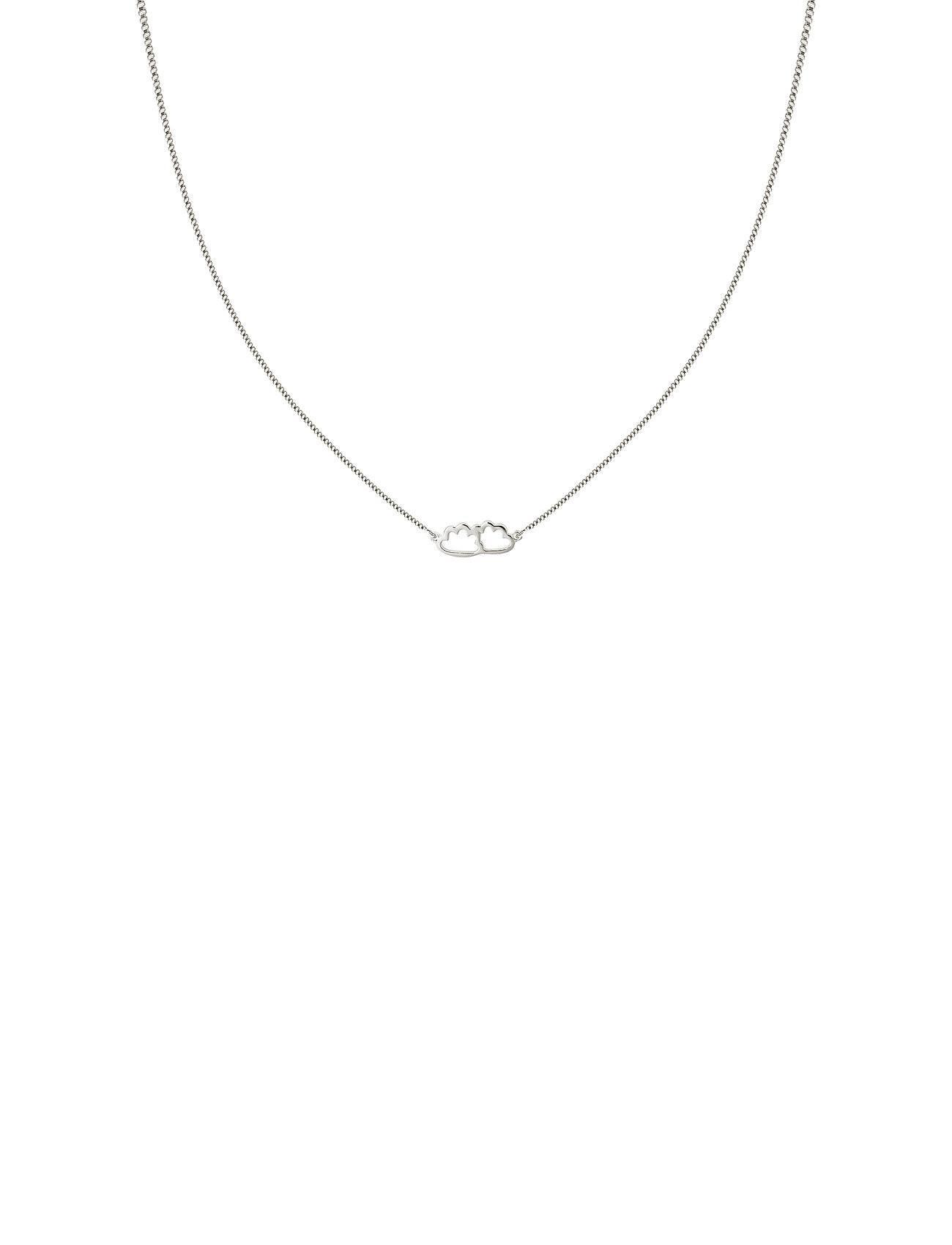 Syster P Snap Necklace Cloud Silver