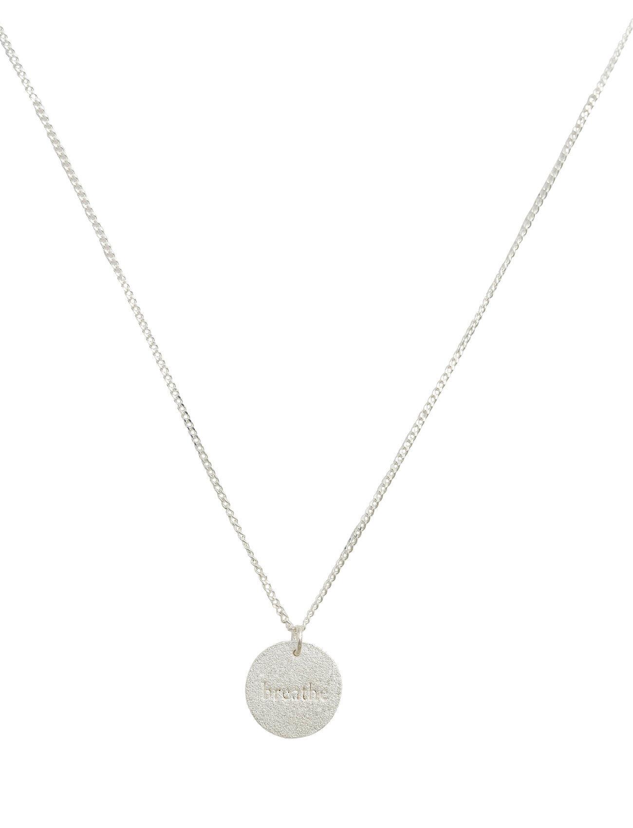Syster P Minimalistica Breathe Necklace Silver