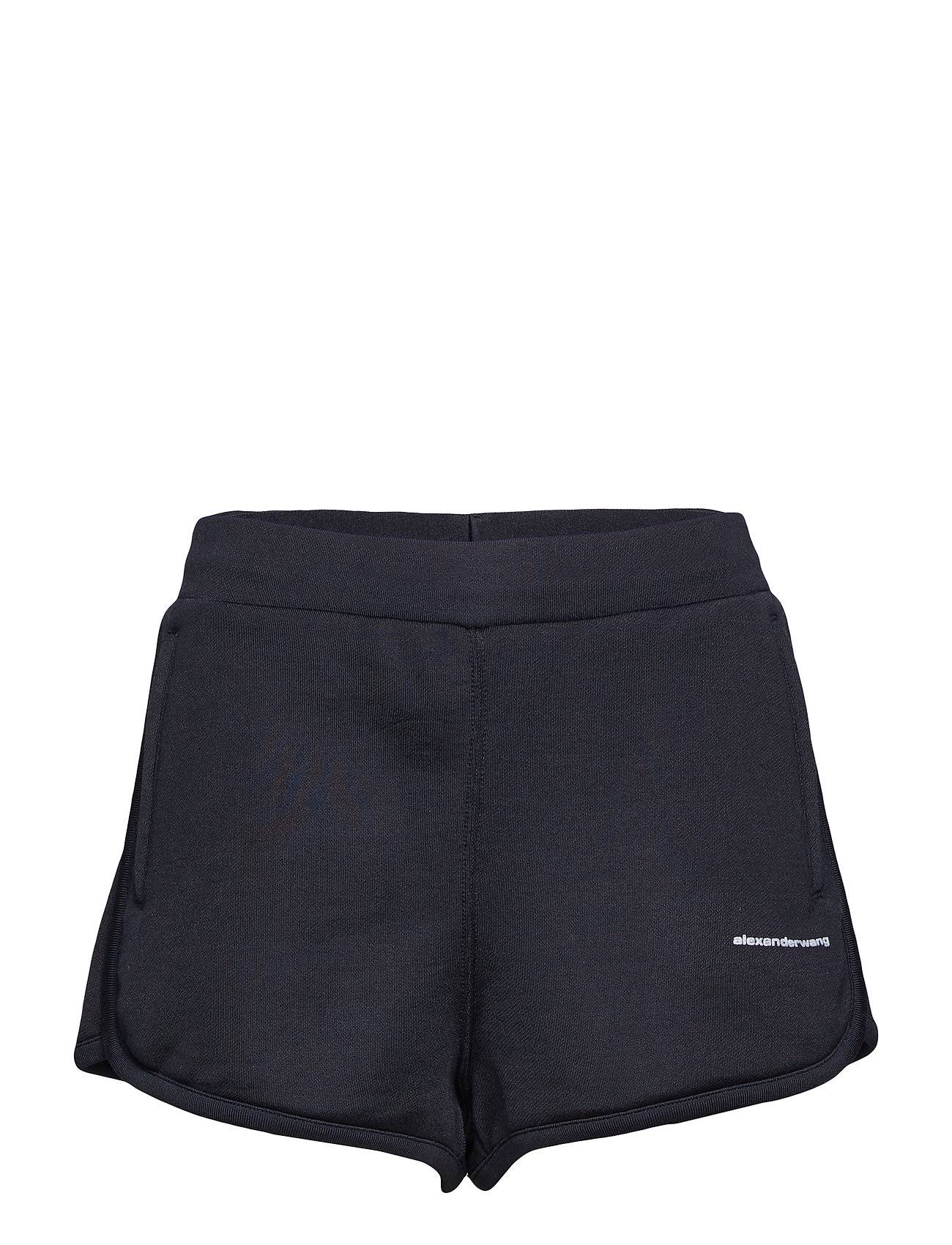 T by Alexander Wang Heavy Sleek French Terry Track Shorts